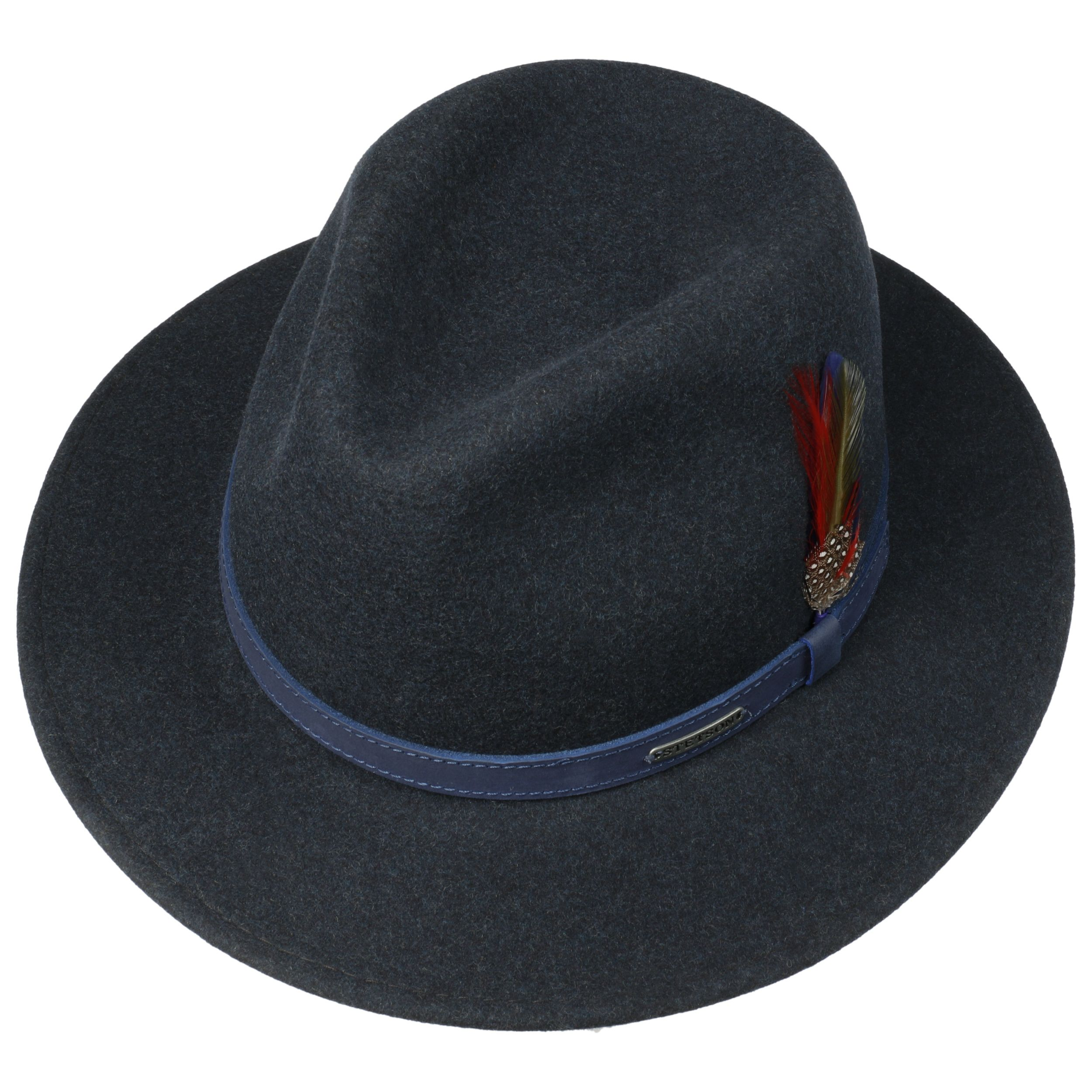 Powell Traveller Filzhut blau