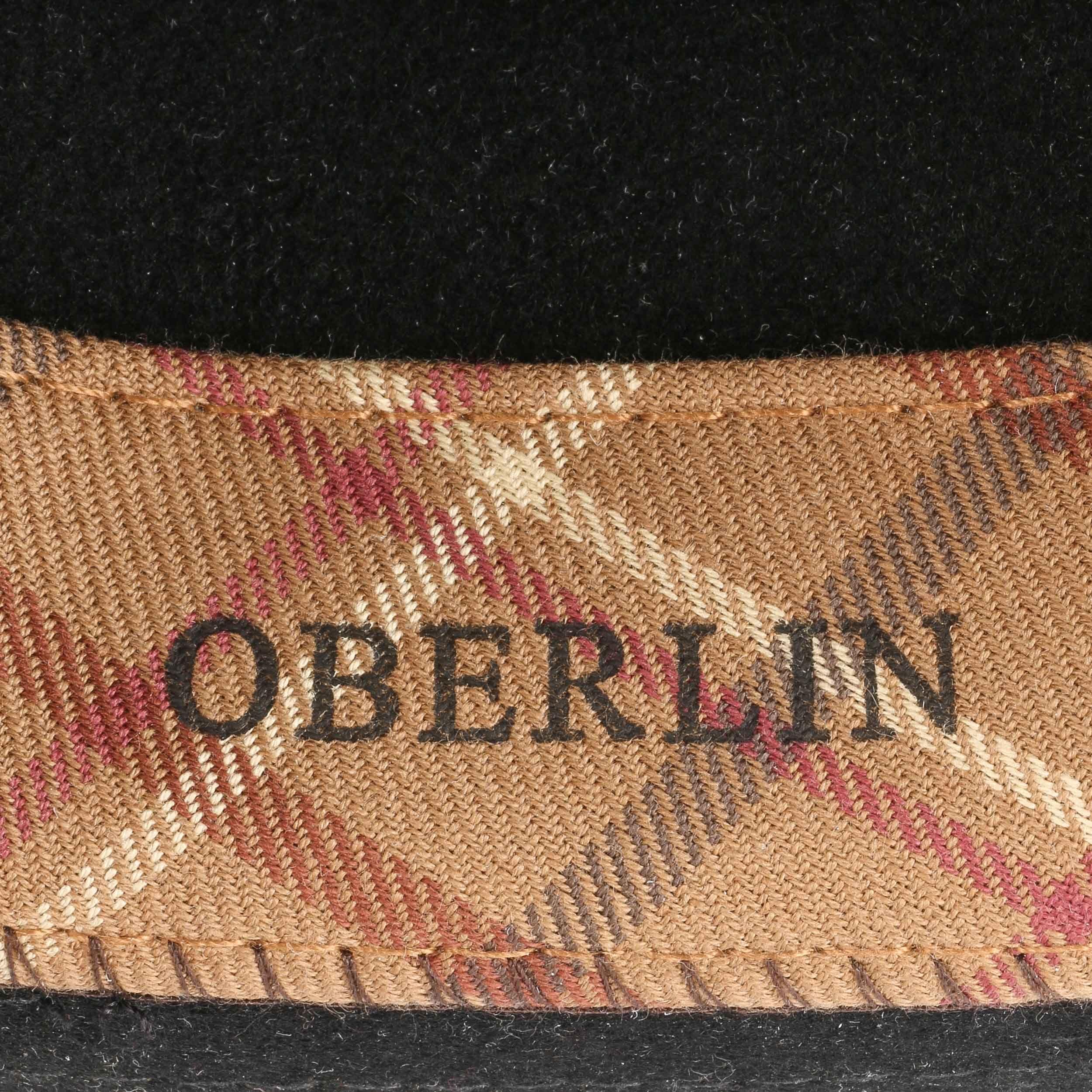 Oberlin VitaFelt Wollfilzhut schwarz