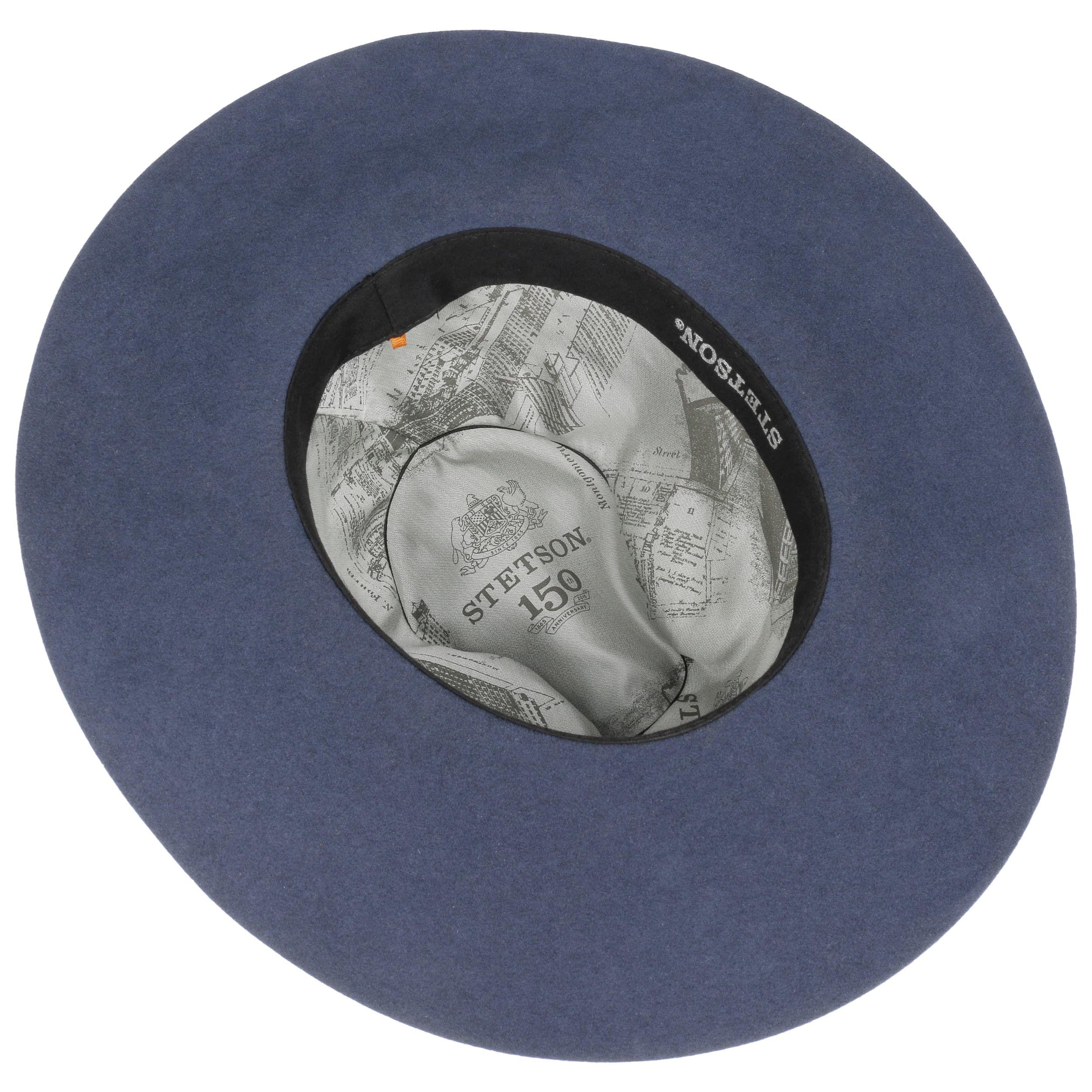 Plum Flapper Schlapphut blau