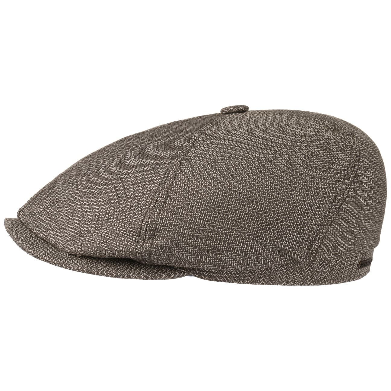 Stetson Brooklin Zigzag Flat Cap Men Made in The EU
