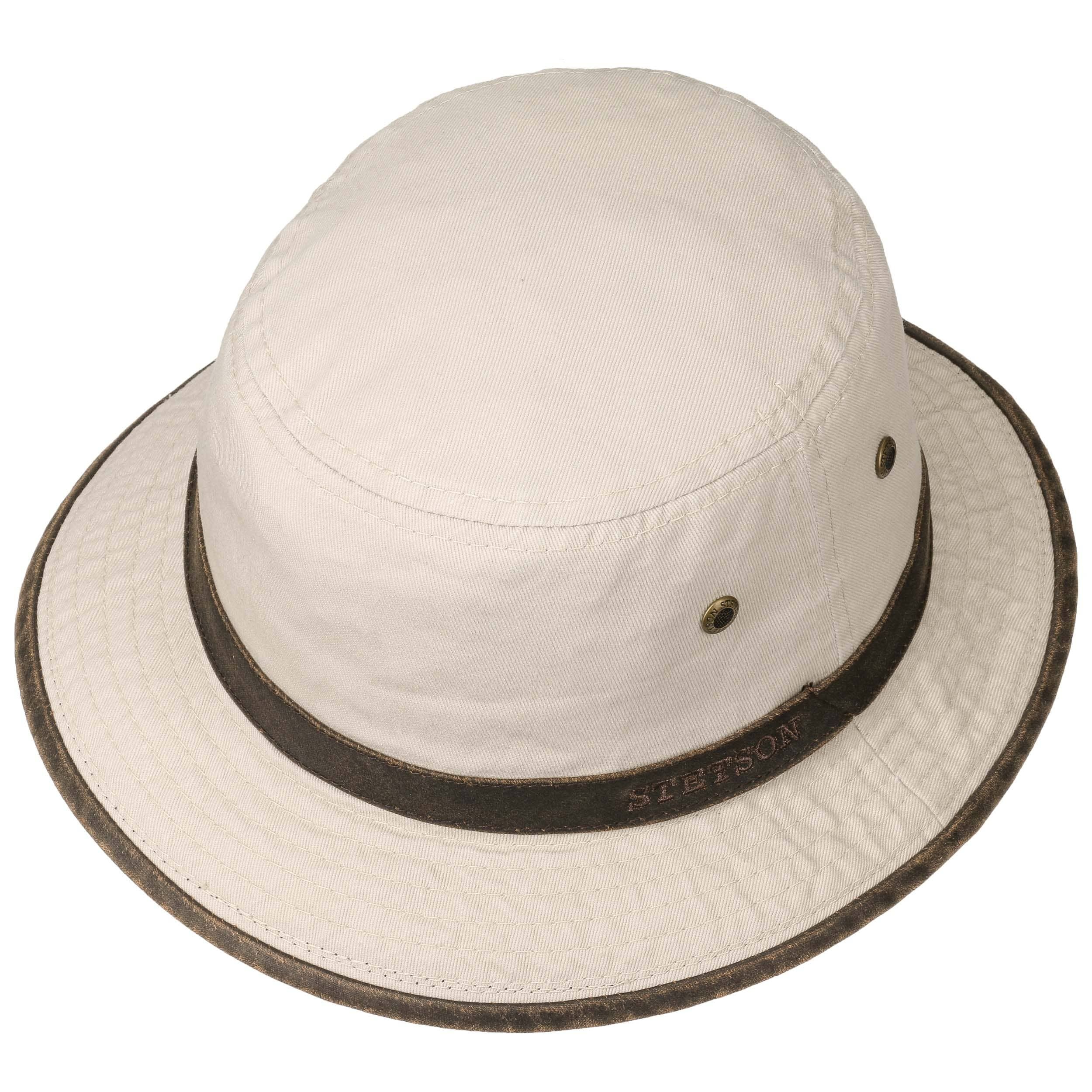 Washed UV-Schutz Bucket Hat beige