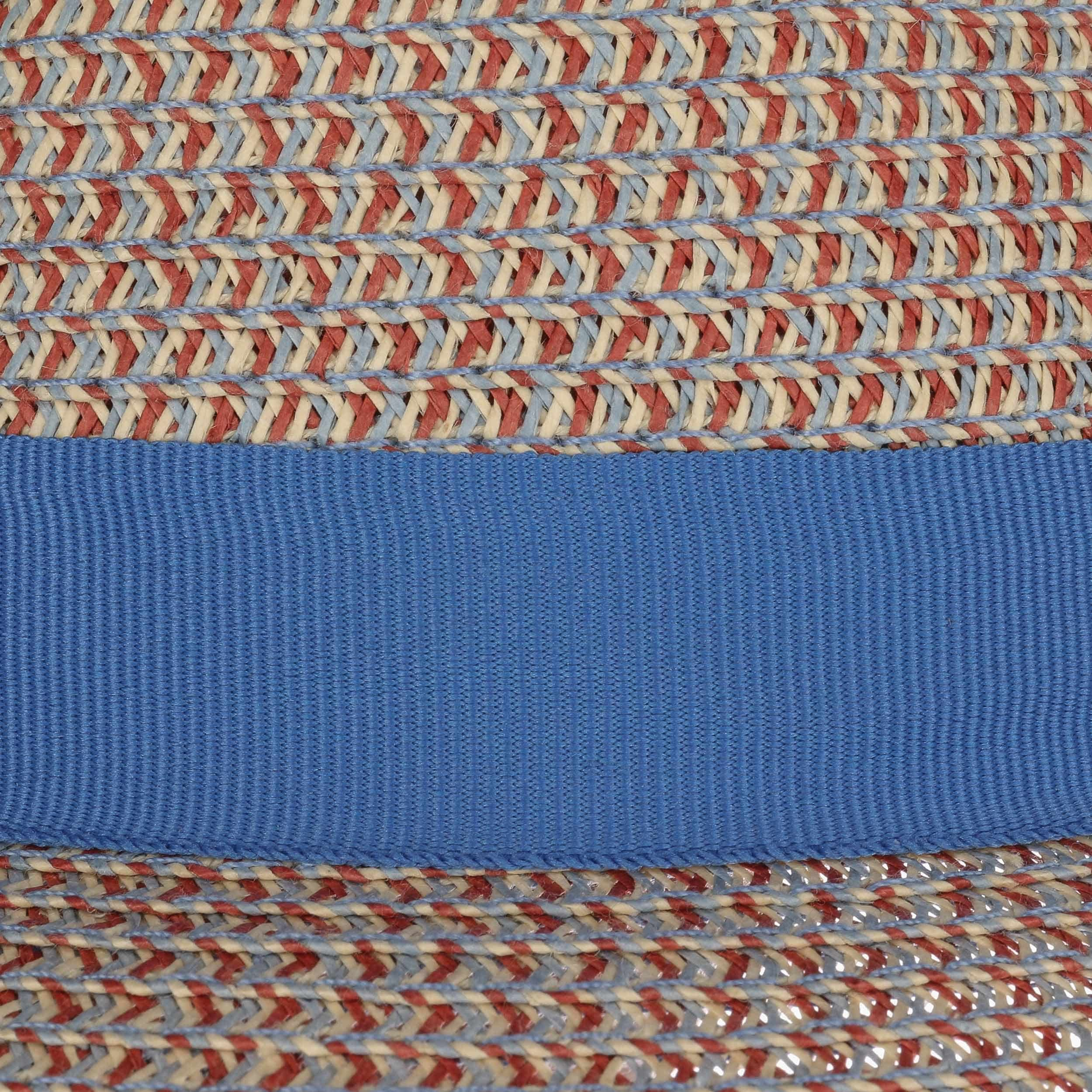 Contrast Colour Toyo Trilby Hut blau-beige