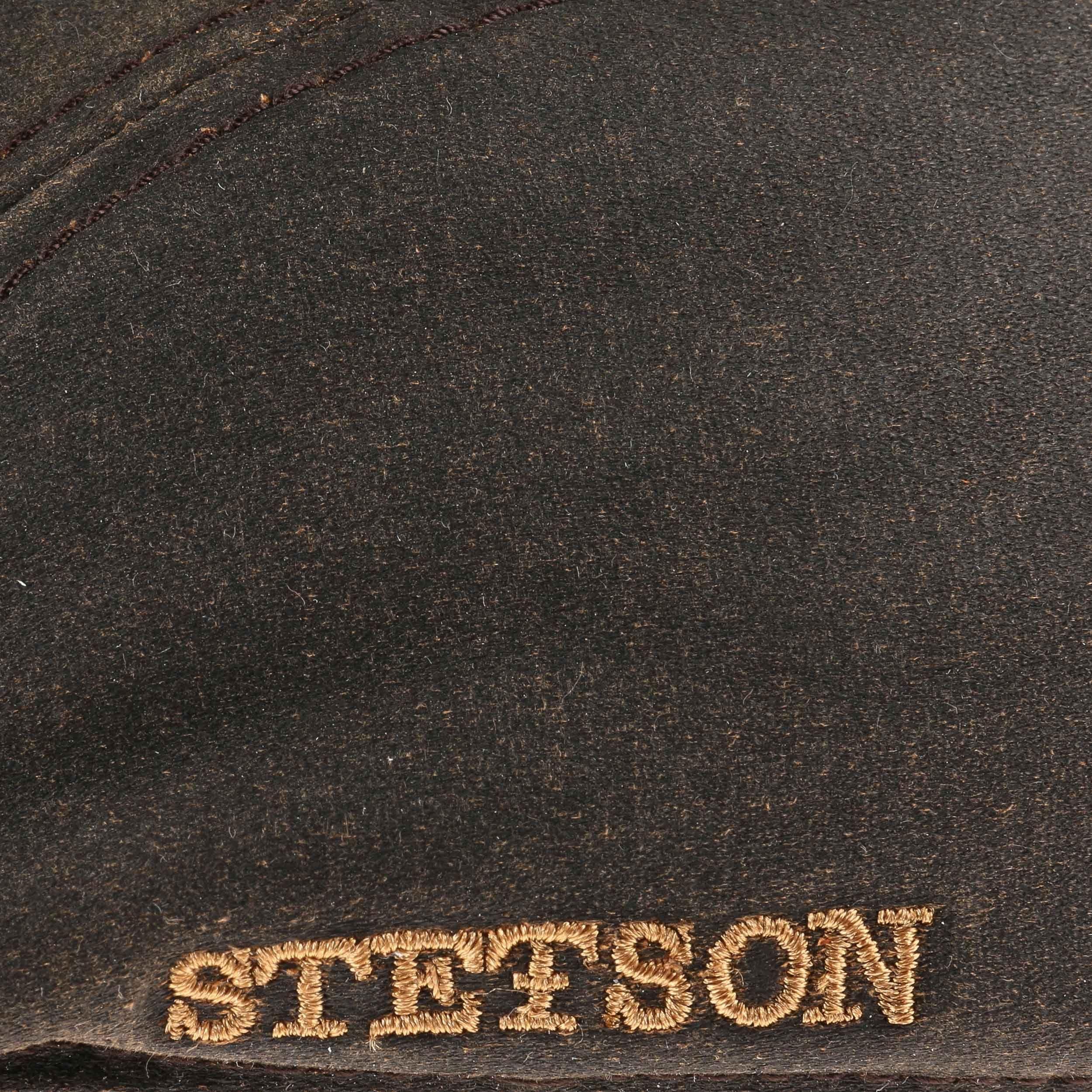 Old Cotton Flatcap mit Ohrenklappen braun