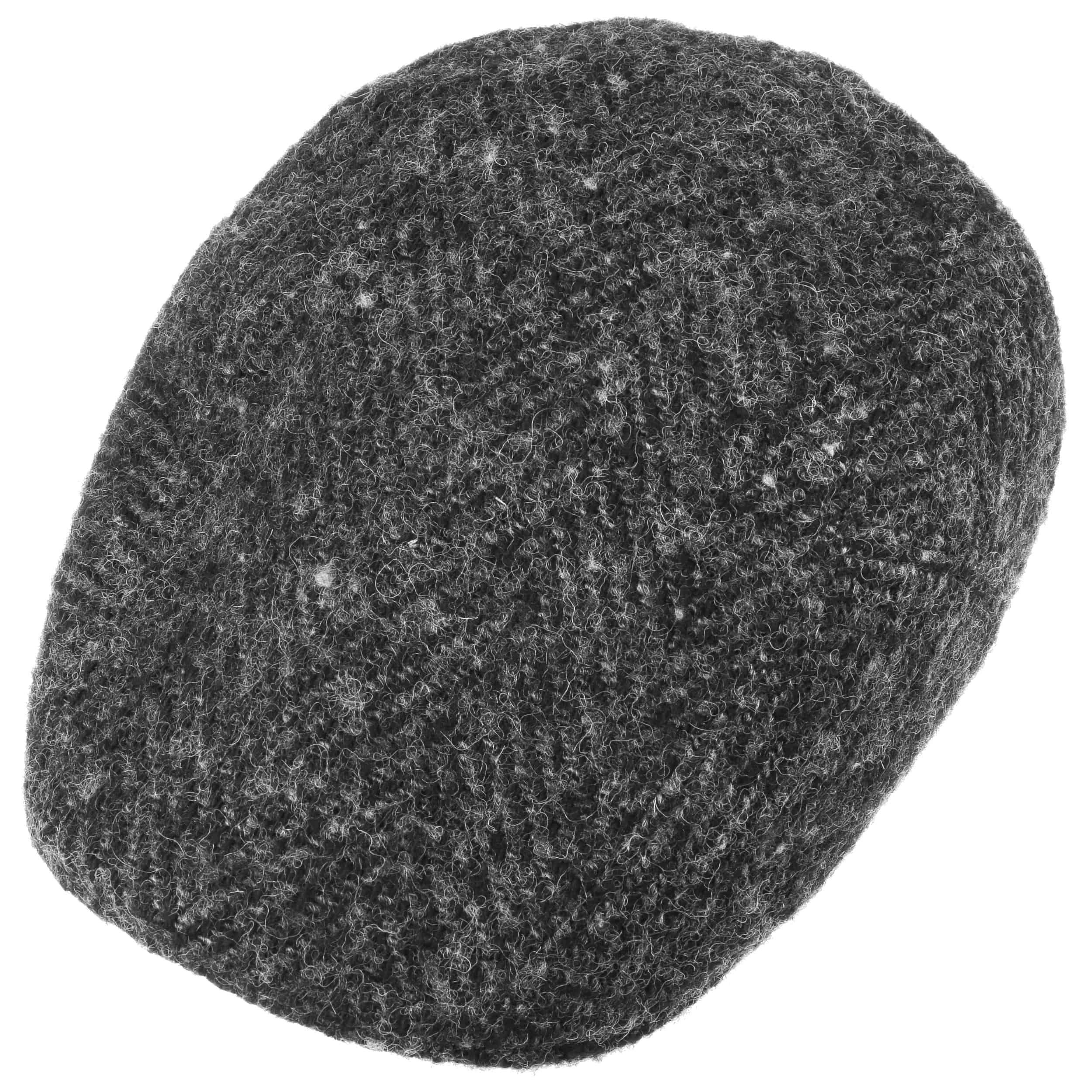 Herringbone Ivy Flatcap anthrazit