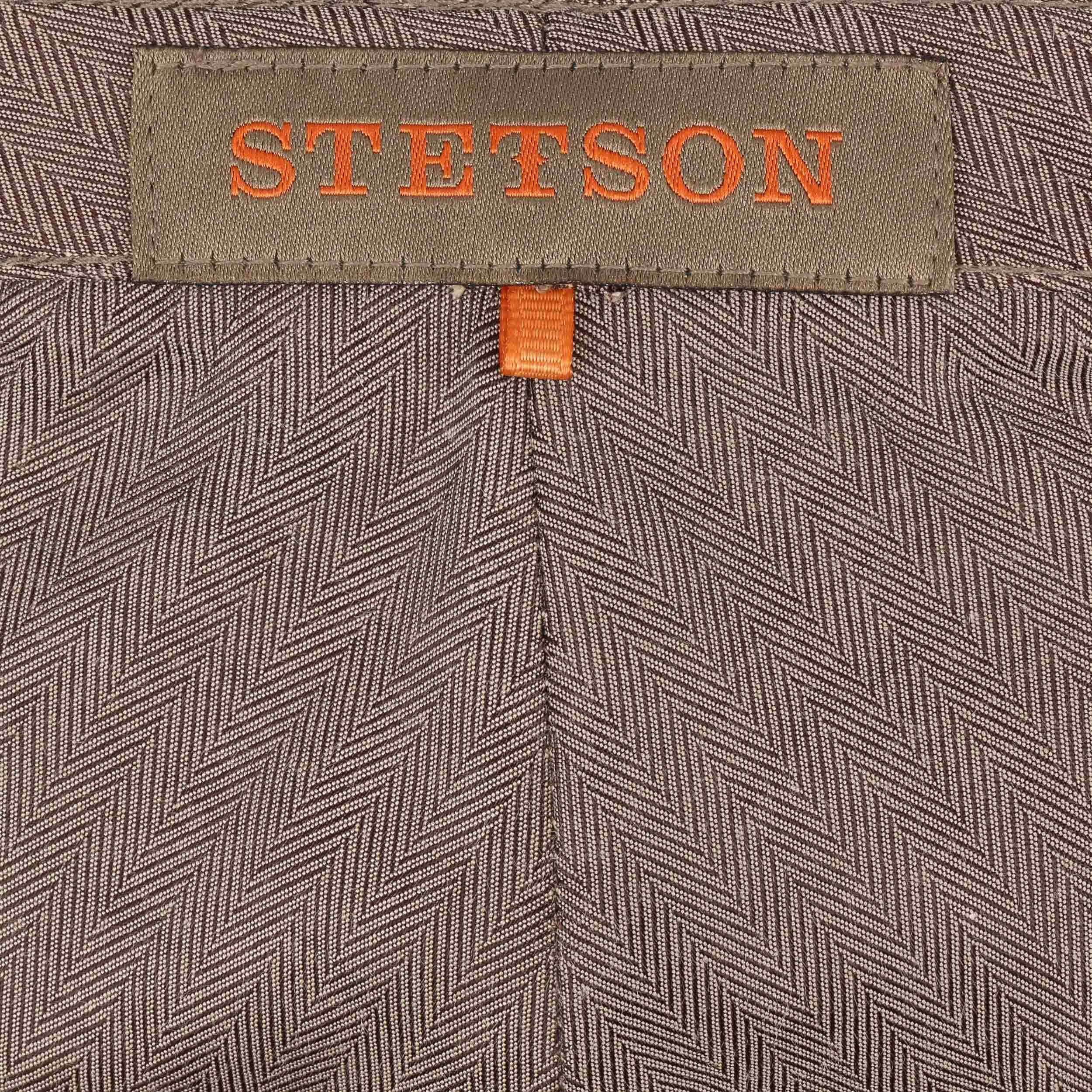 Hatteras Wool Check Flatcap blau-grün