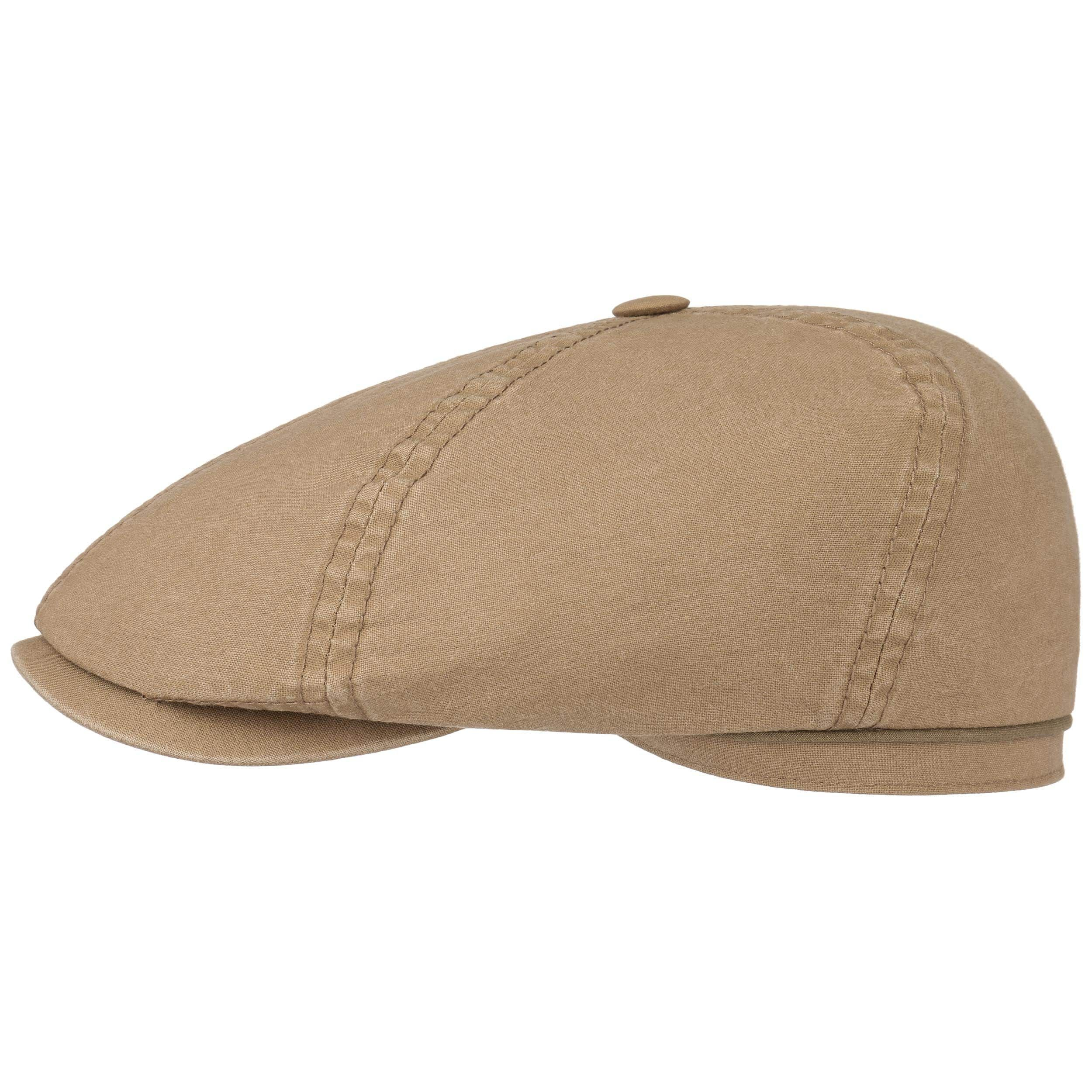 Delave Organic Cotton Flatcap dunkelbeige