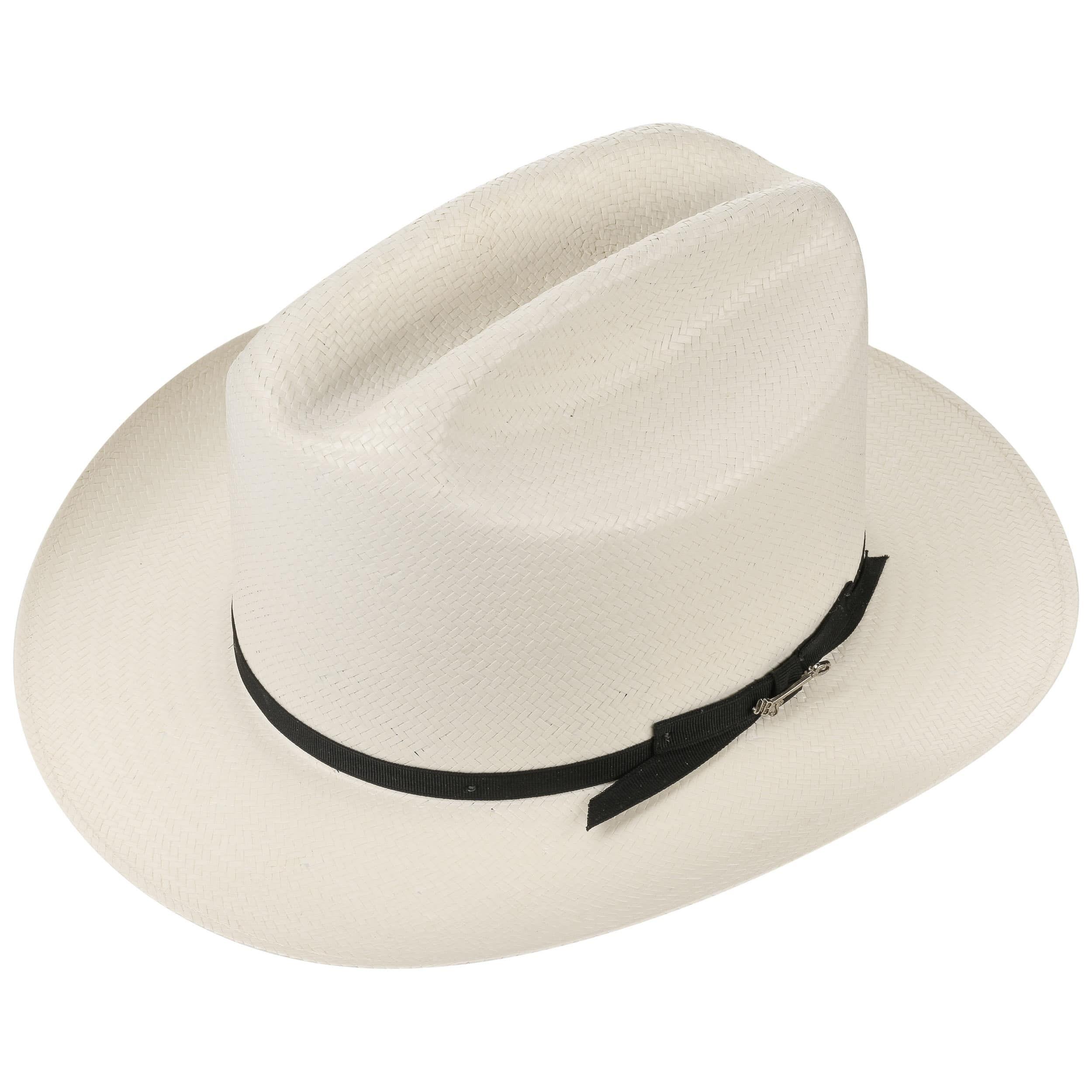 Open Road 6X Western Straw Hat cream white