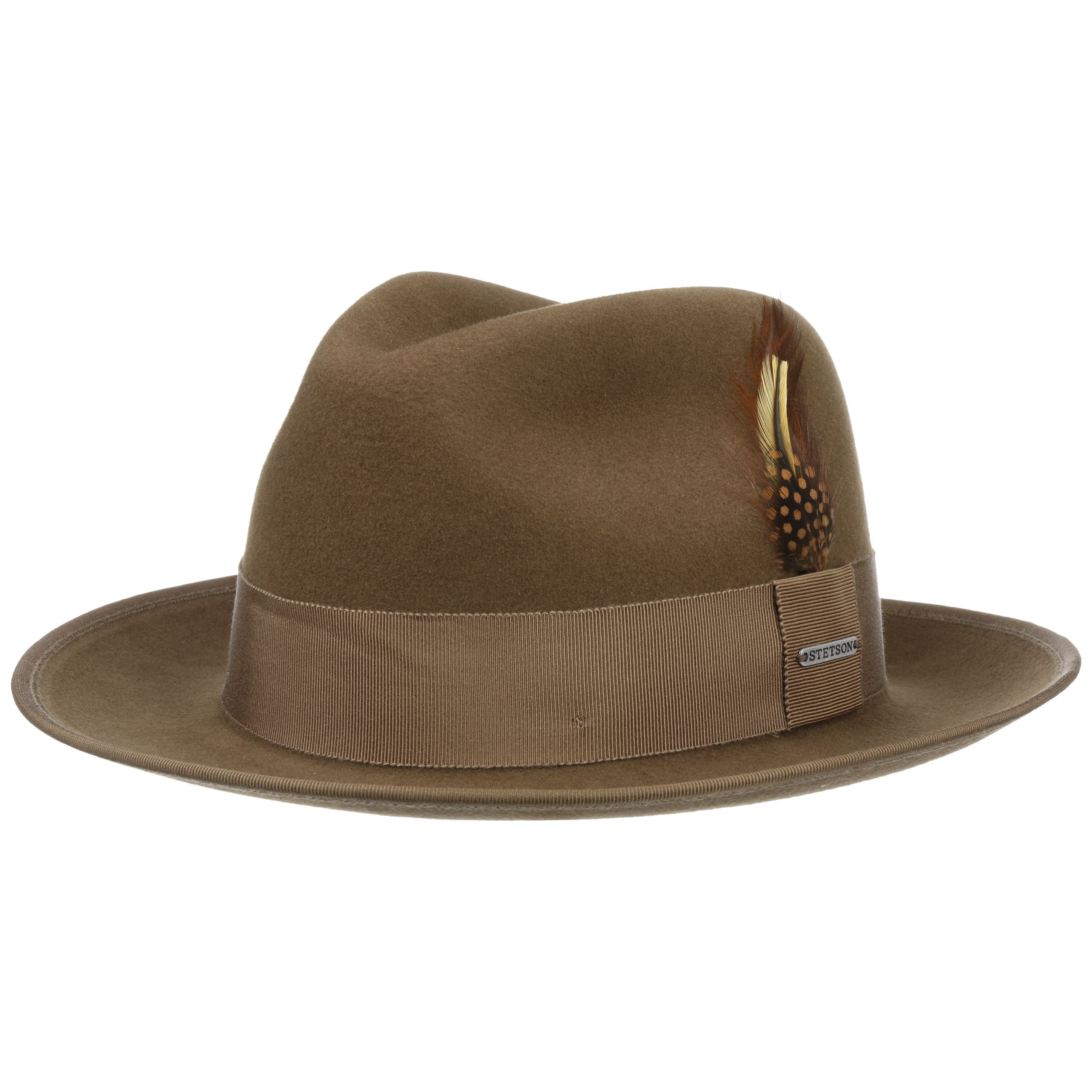 Vermont Fedora VitaFelt Hat brown