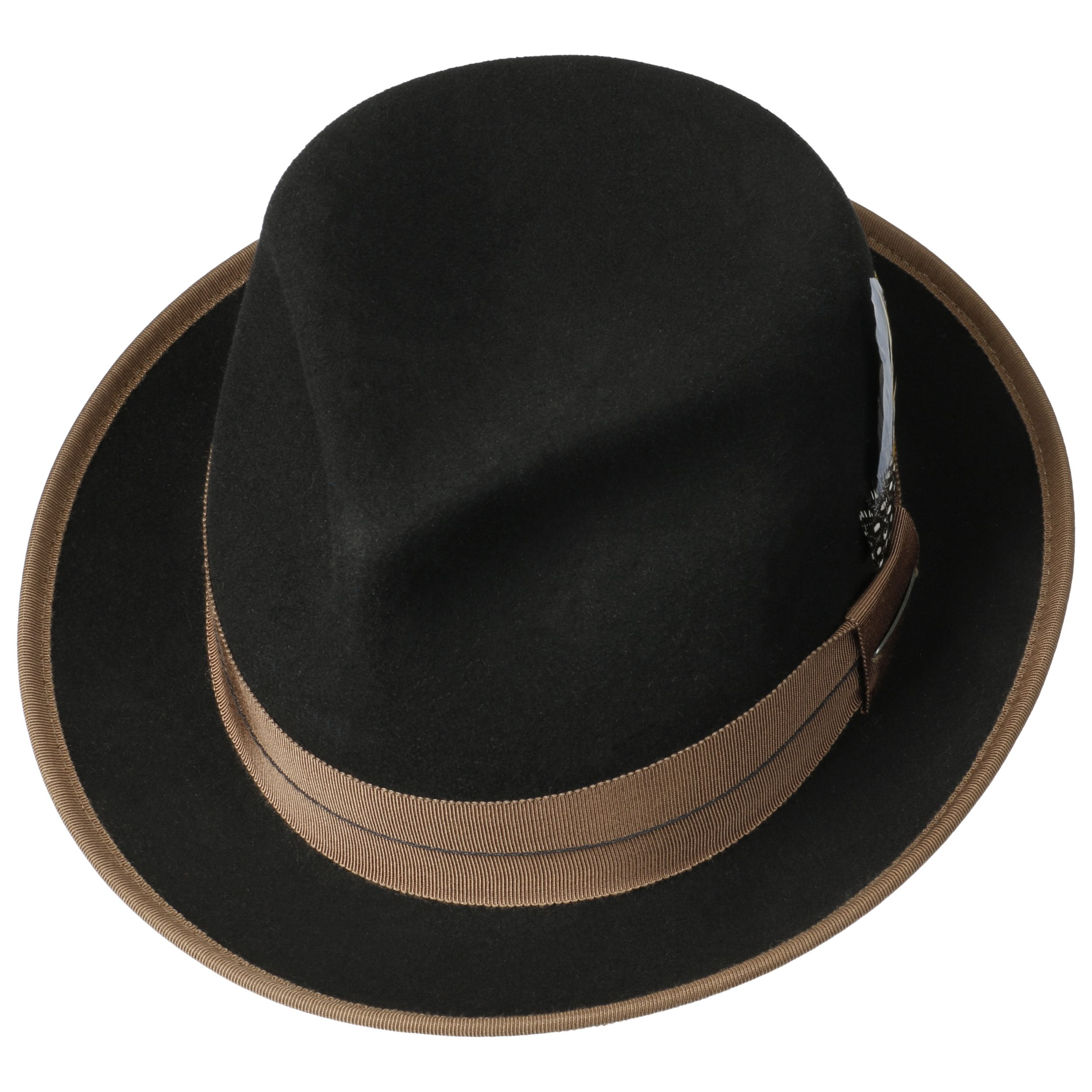 Orleans Fedora VitaFelt Hat black