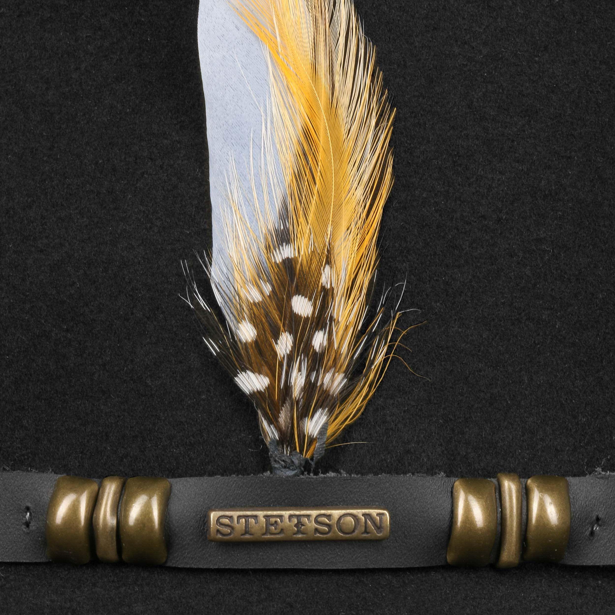 Barley VitaFelt Hut mit Ohrenklappen schwarz
