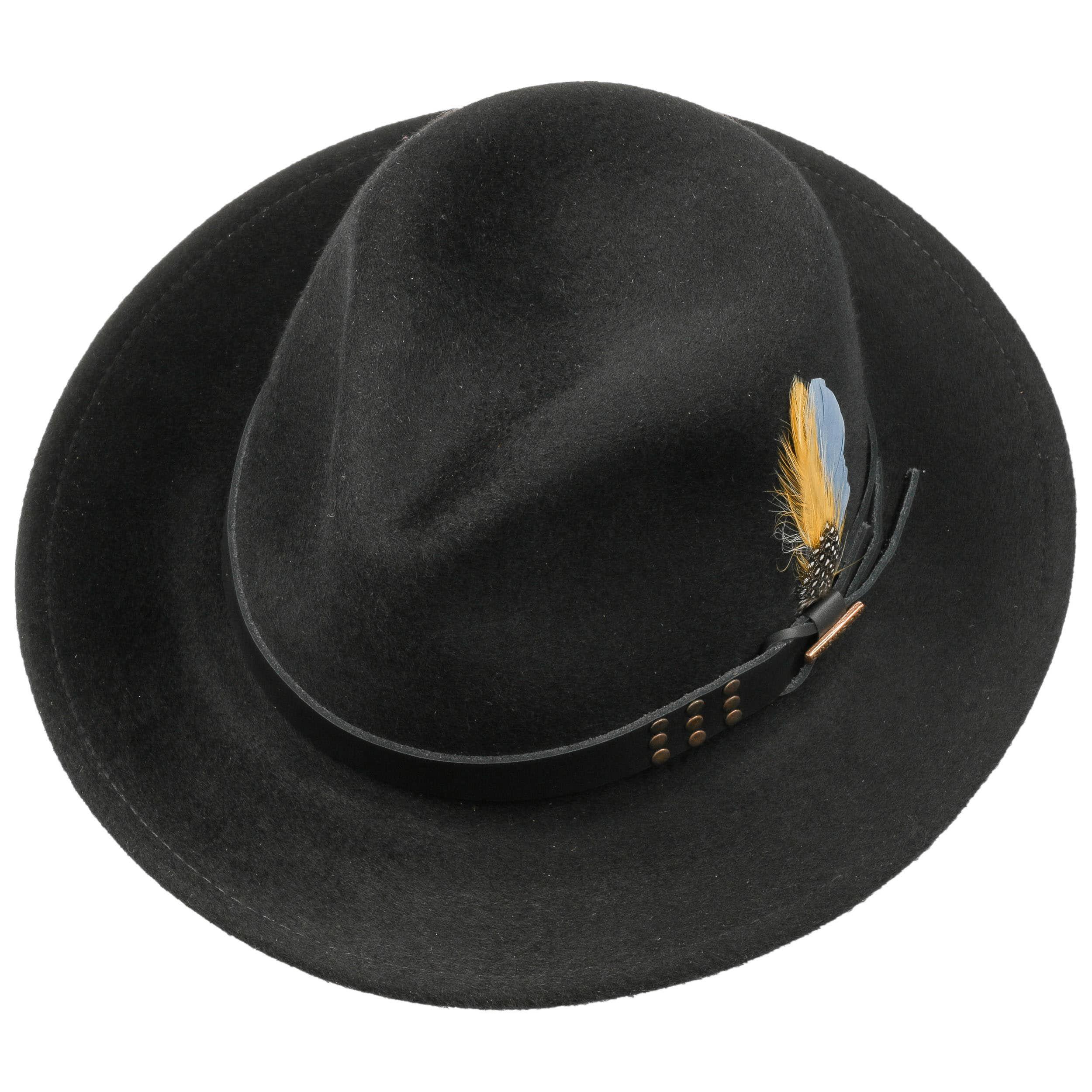 Teronta Lux Finish VitaFelt Hut schwarz