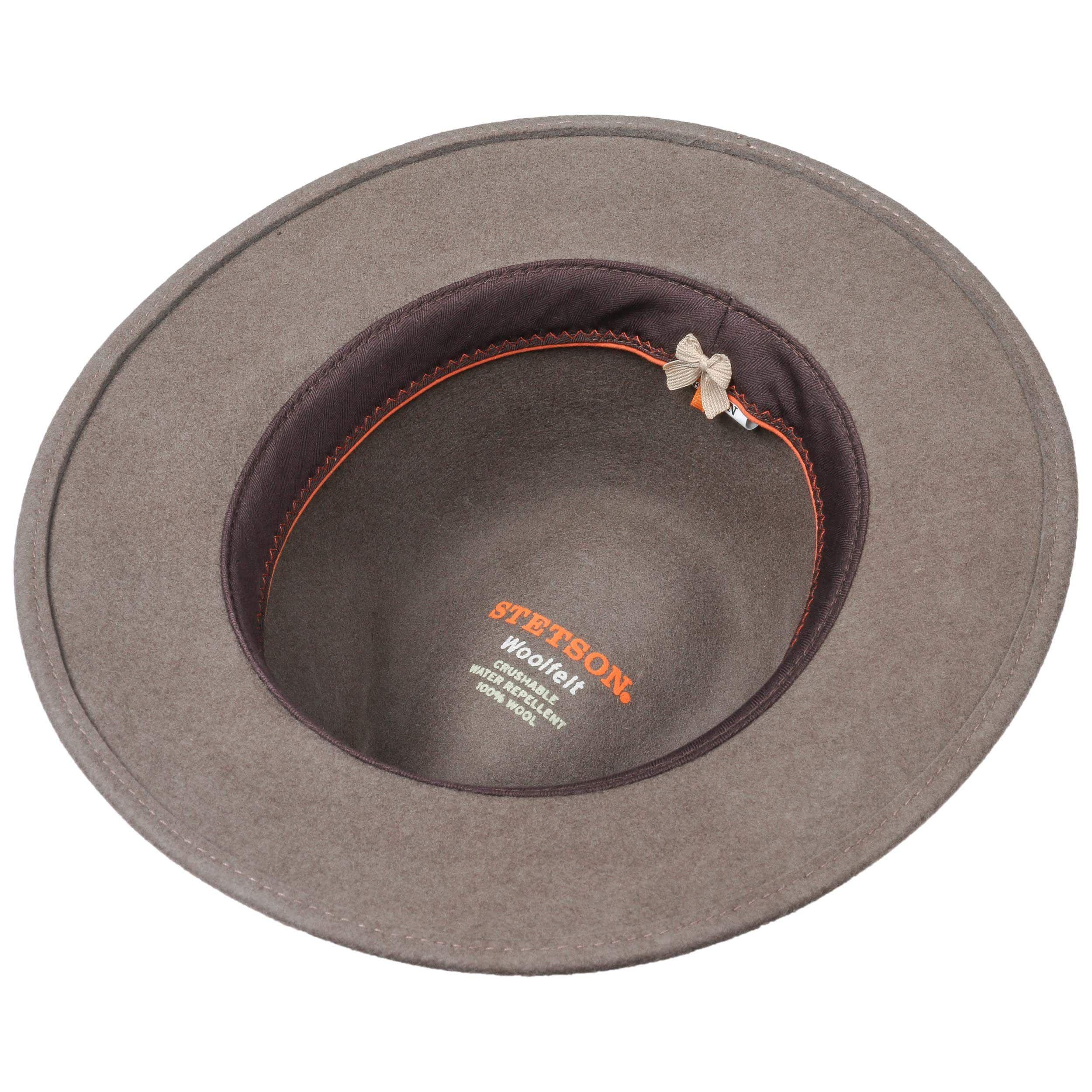 Parlesto Traveller Wool Felt Hat taupe