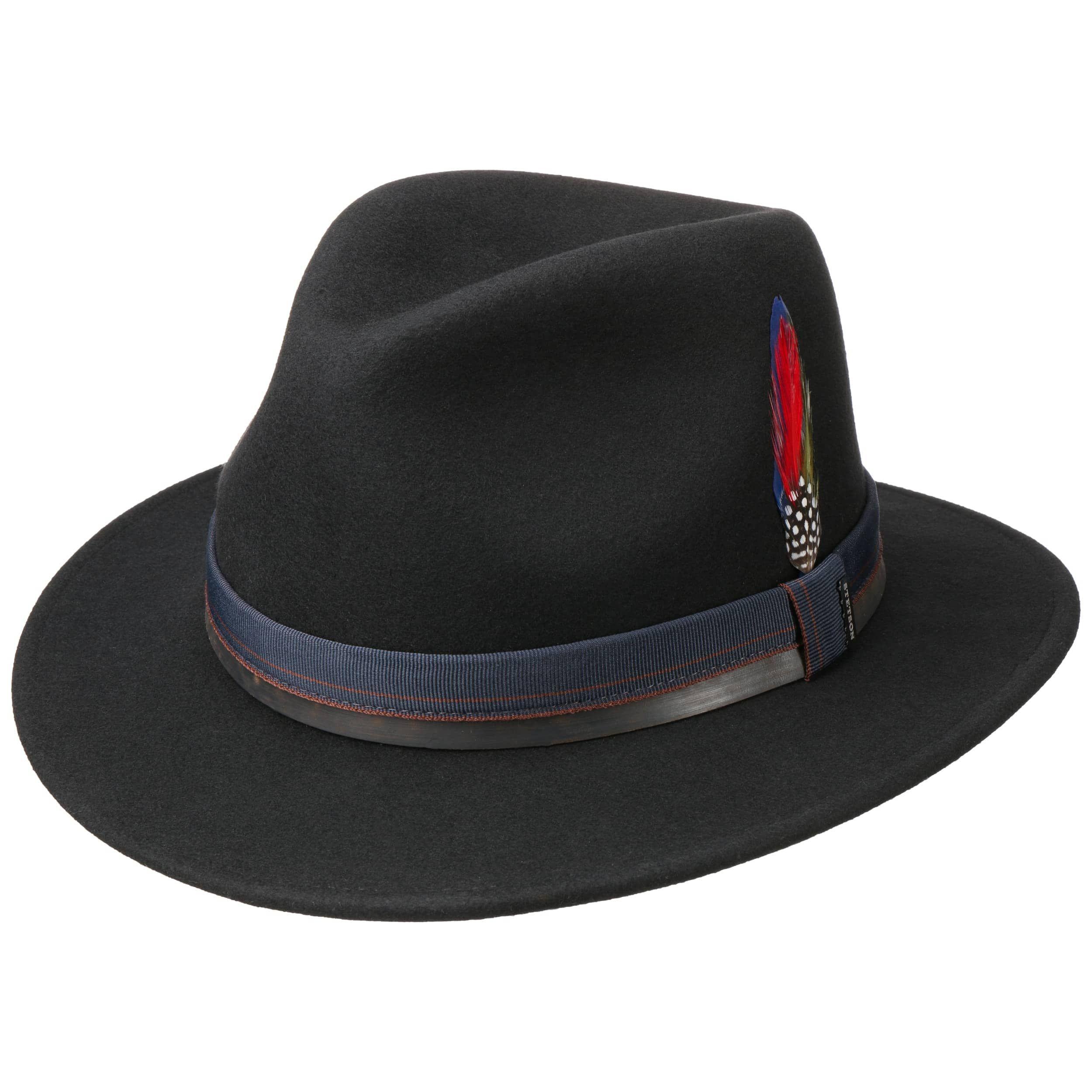 Sombrero de Fieltro Parlesto Traveller negro