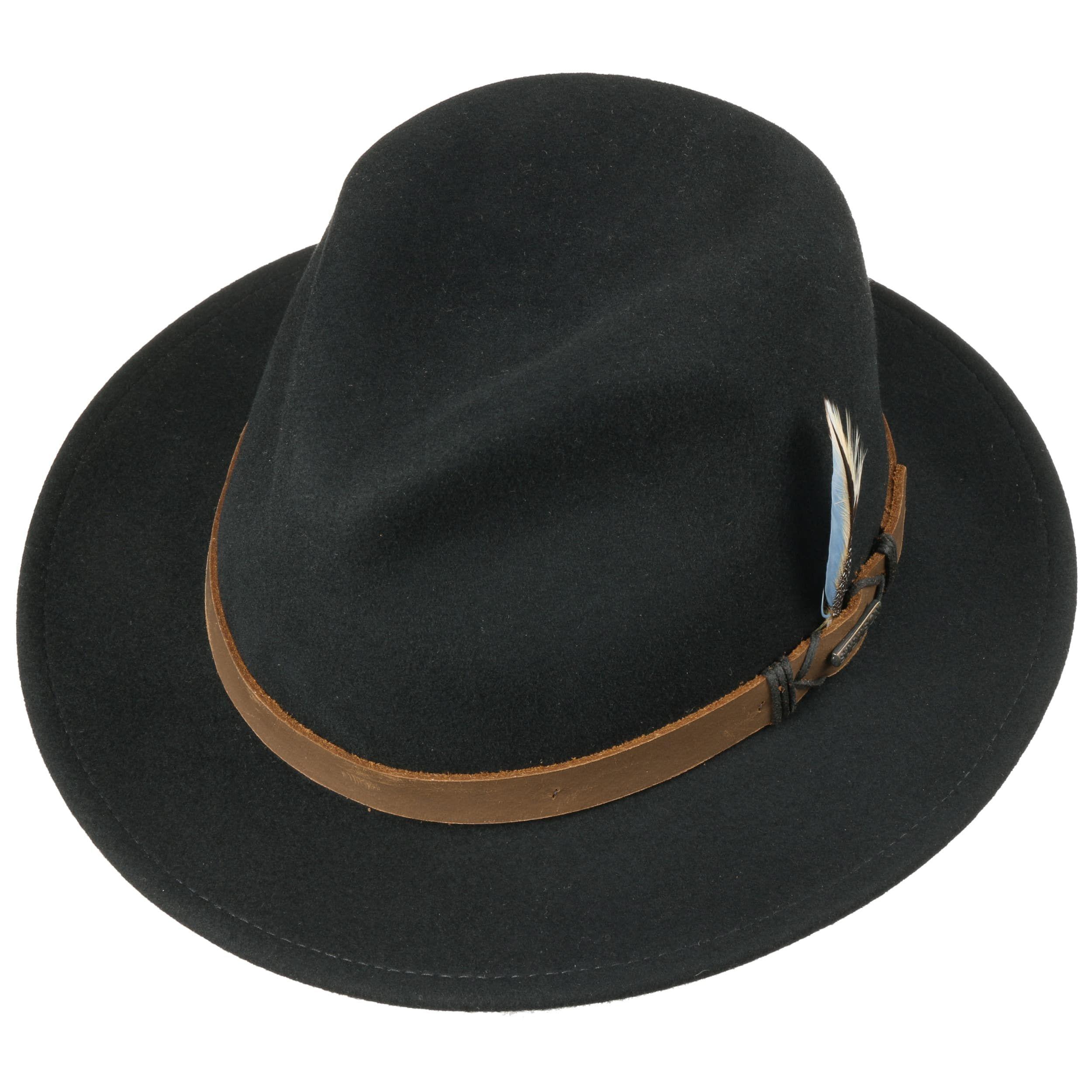 Rivaton Traveller VitaFelt Hut schwarz