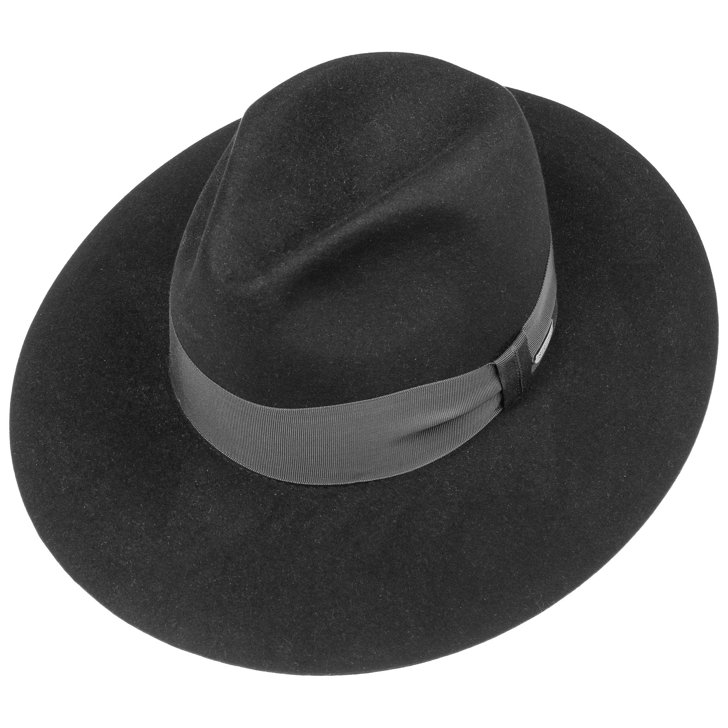 Marisa Haarfilz Damenhut schwarz