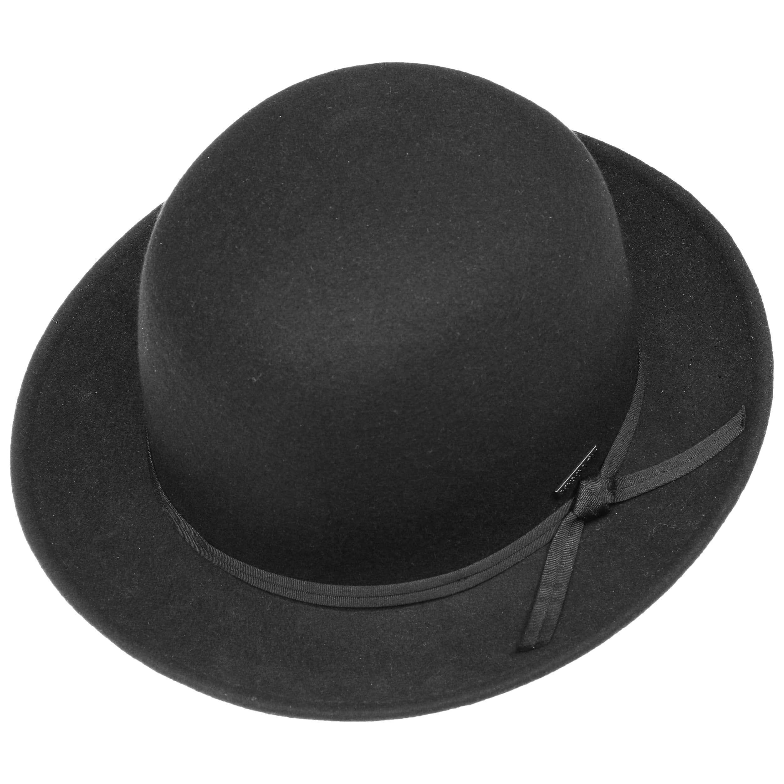 Tilbury Bowler Filzmelone schwarz