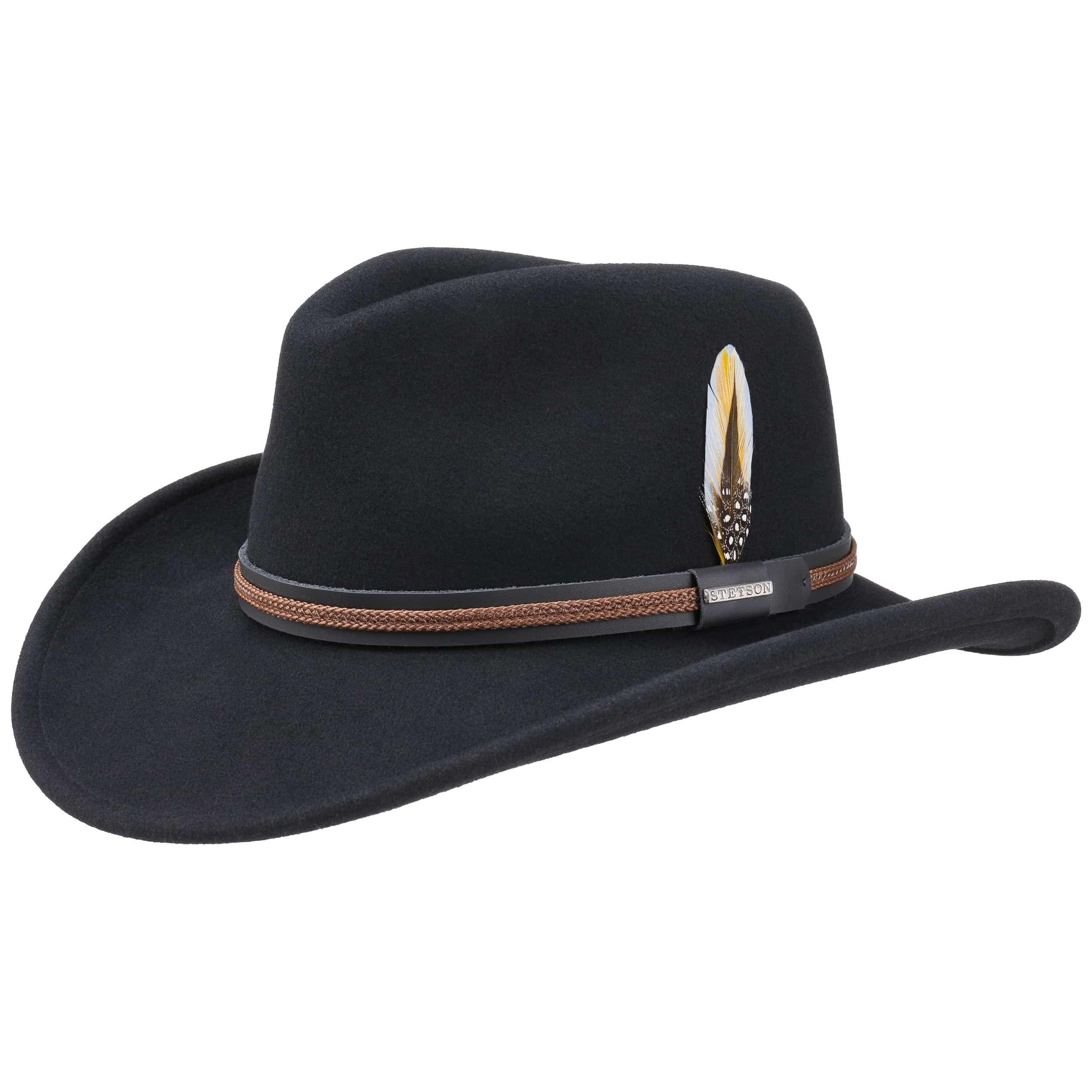 Chasney Western VitaFelt Hat black