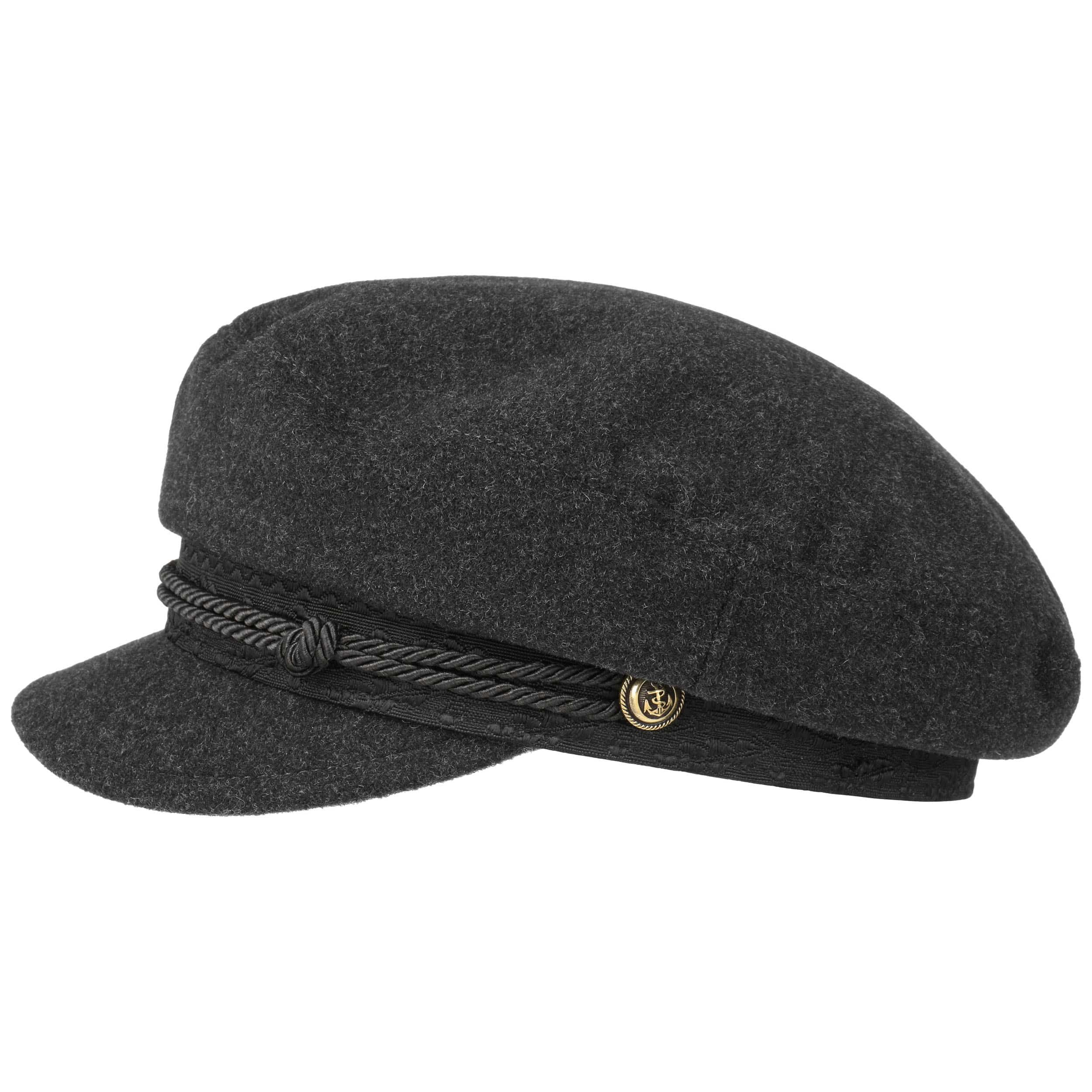 low cost fresh styles outlet store sale Wool Cashmere Riders Cap grau