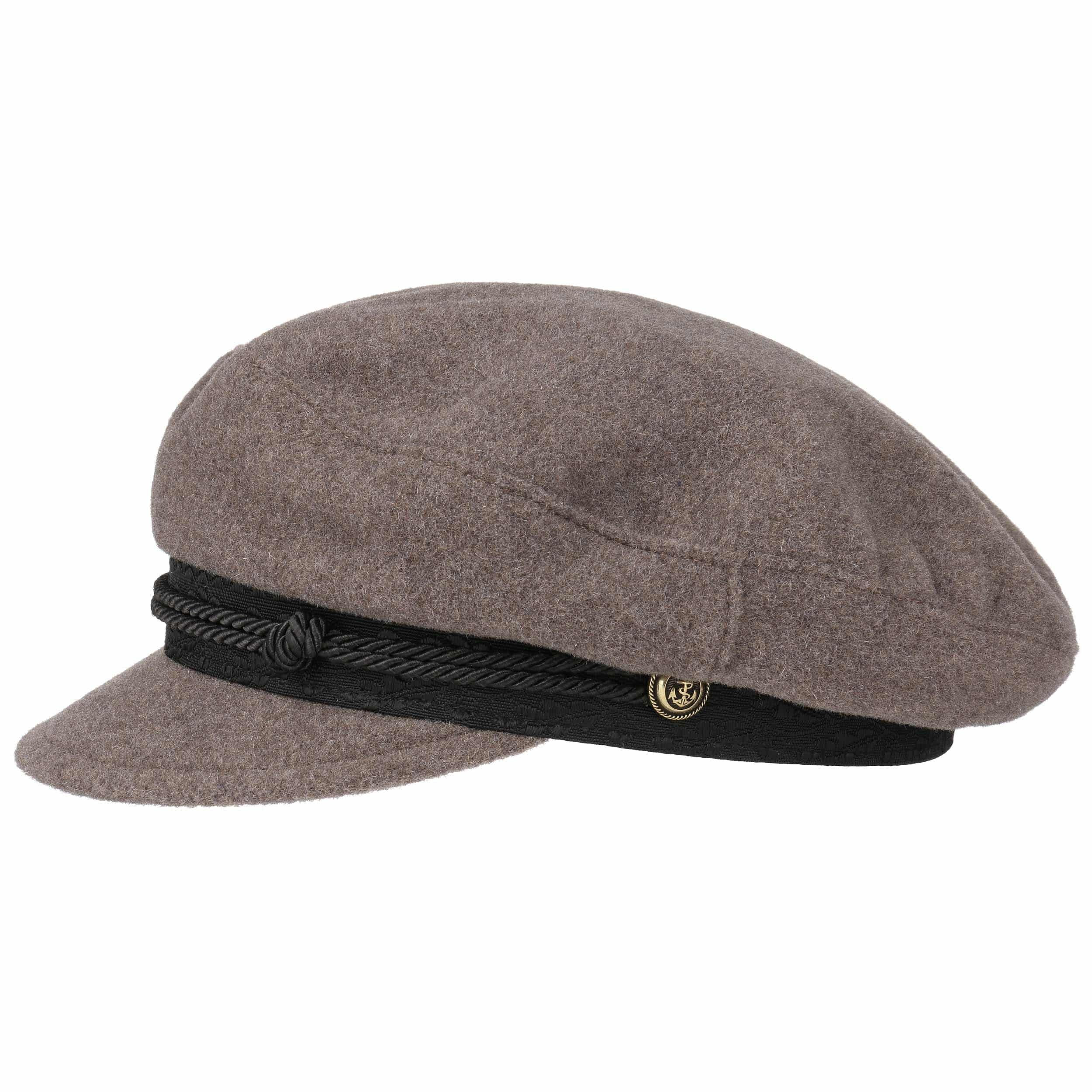 where can i buy exclusive shoes 100% high quality Stetson Wool Cashmere Riders Cap taupe 79,00 € Stetson.eu