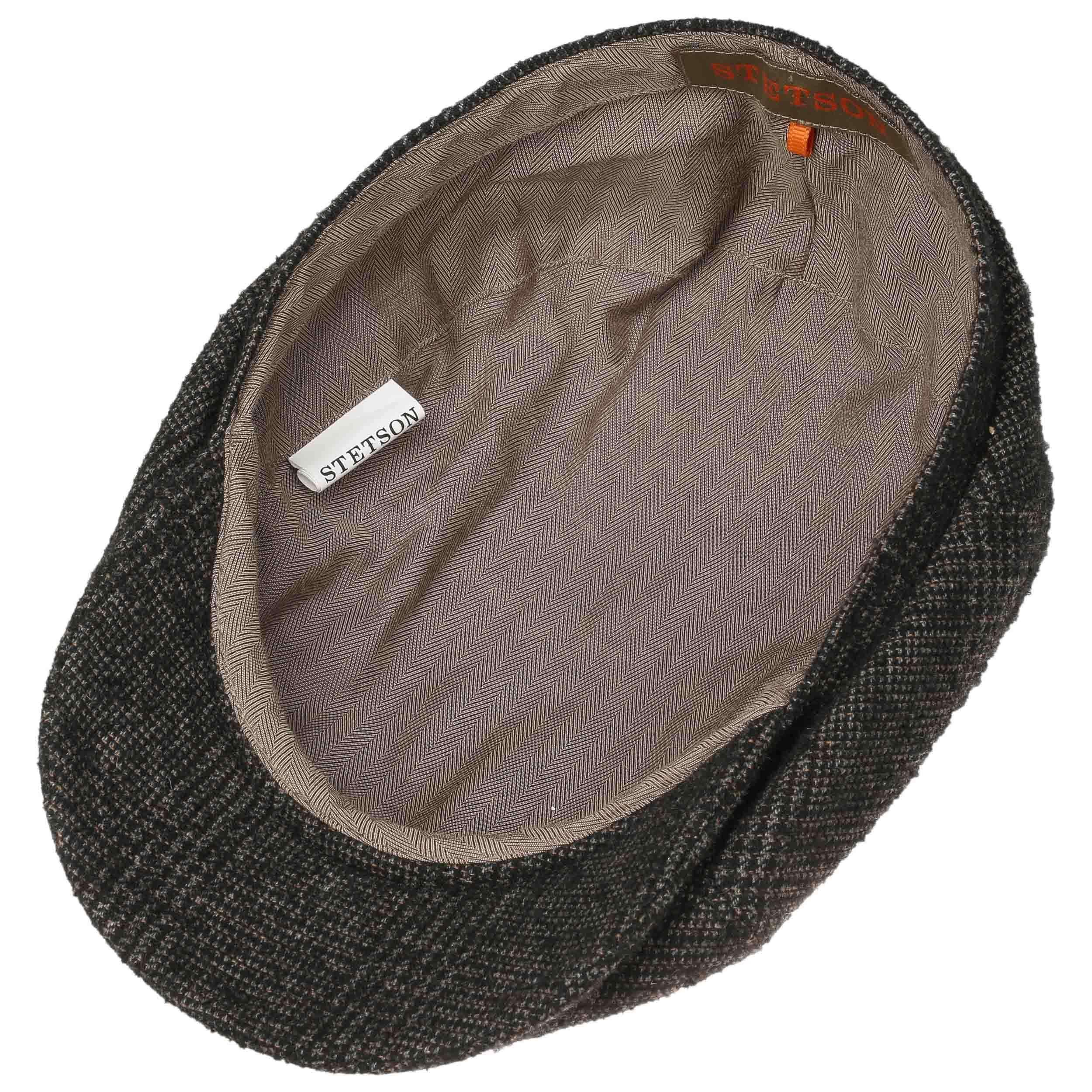 Brooklin Bouclé Flat Cap brown-grey