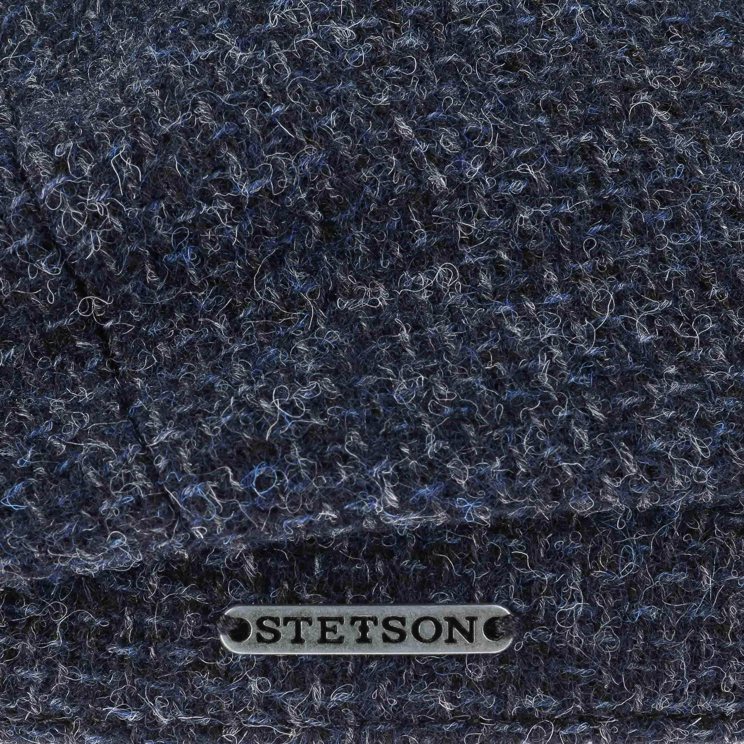 Hatteras Shetland Wool Flatcap dunkelblau