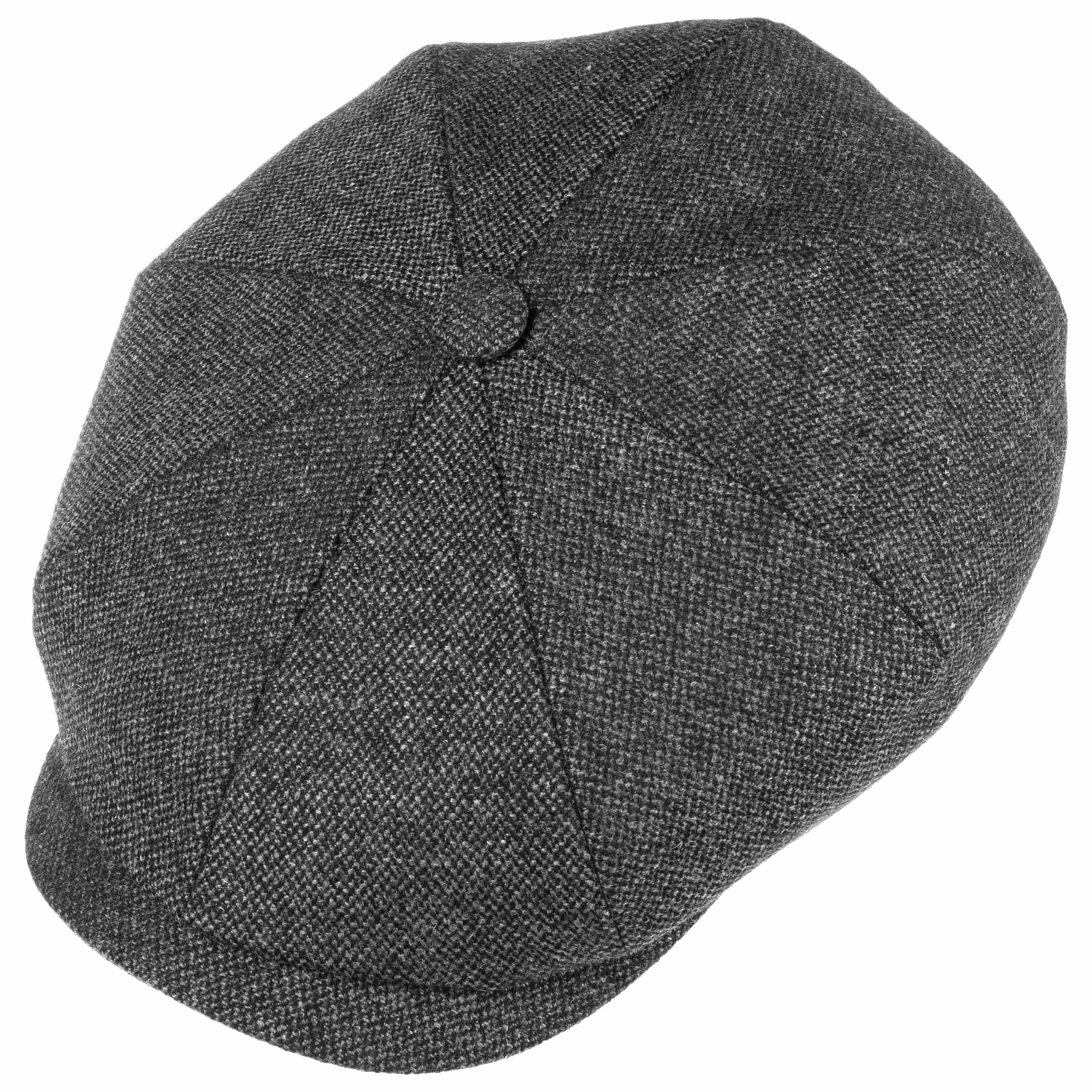 Hatteras Wool Mix Flatcap grau