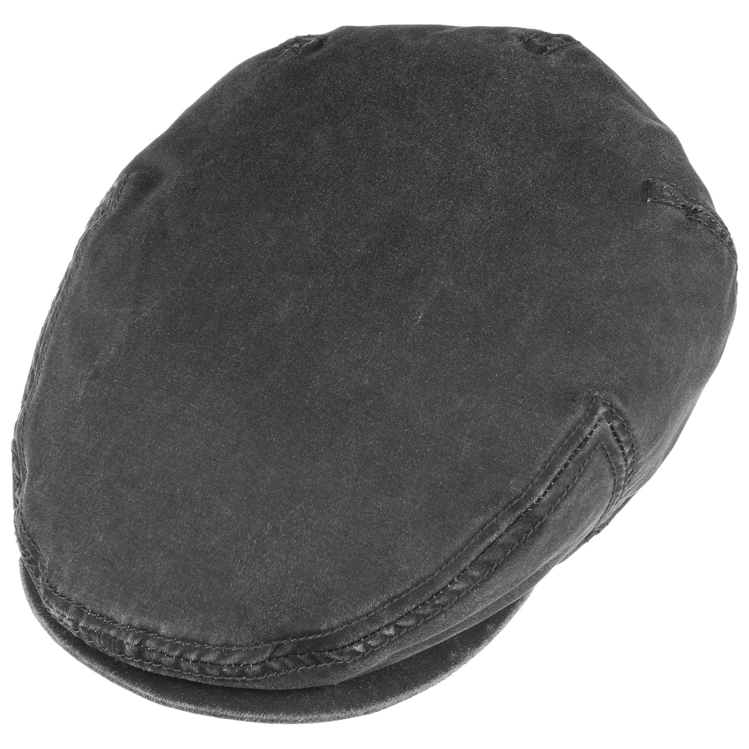 Kent Flat Cap with Ear Flaps black