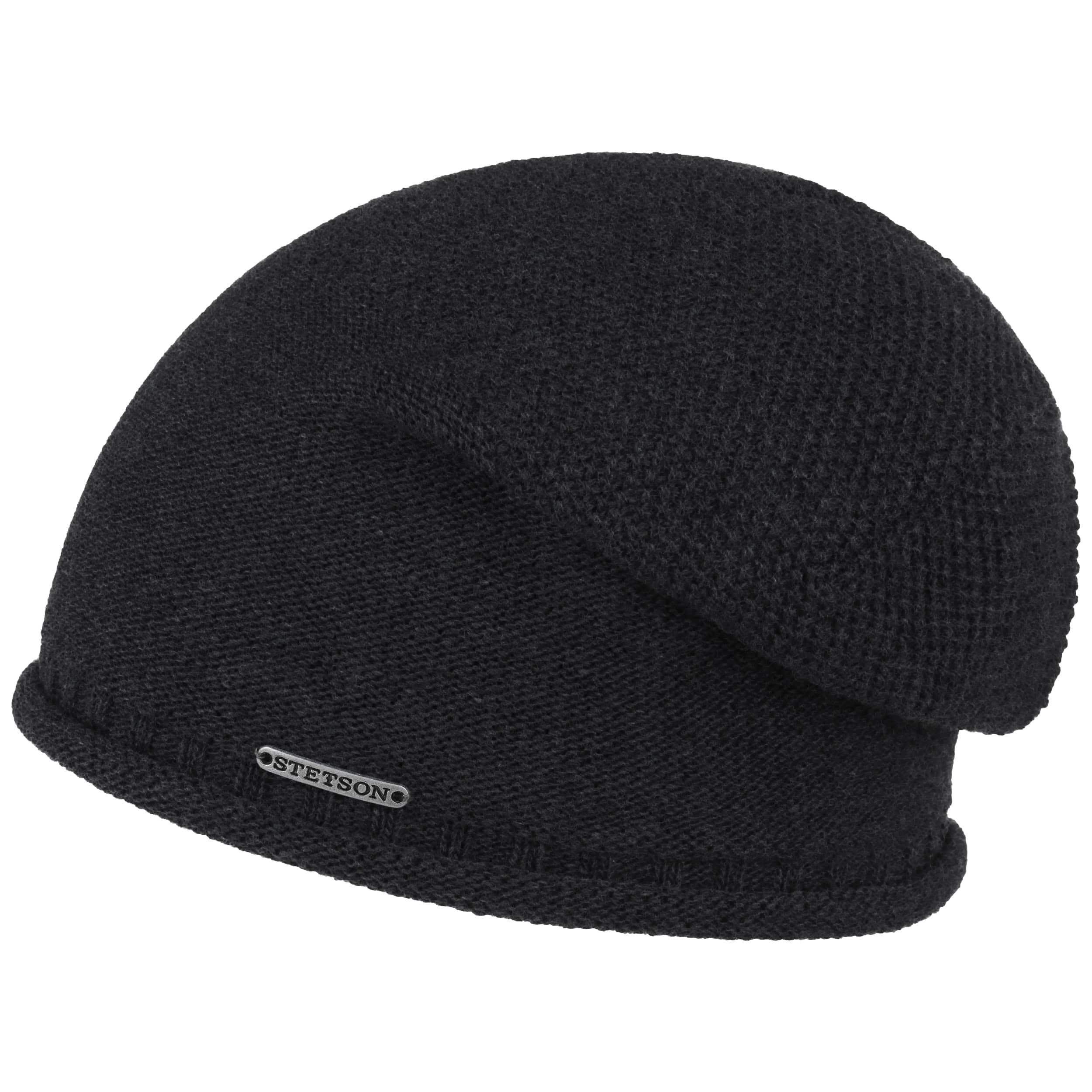 Dicata Wool Beanie mit Futter schwarz