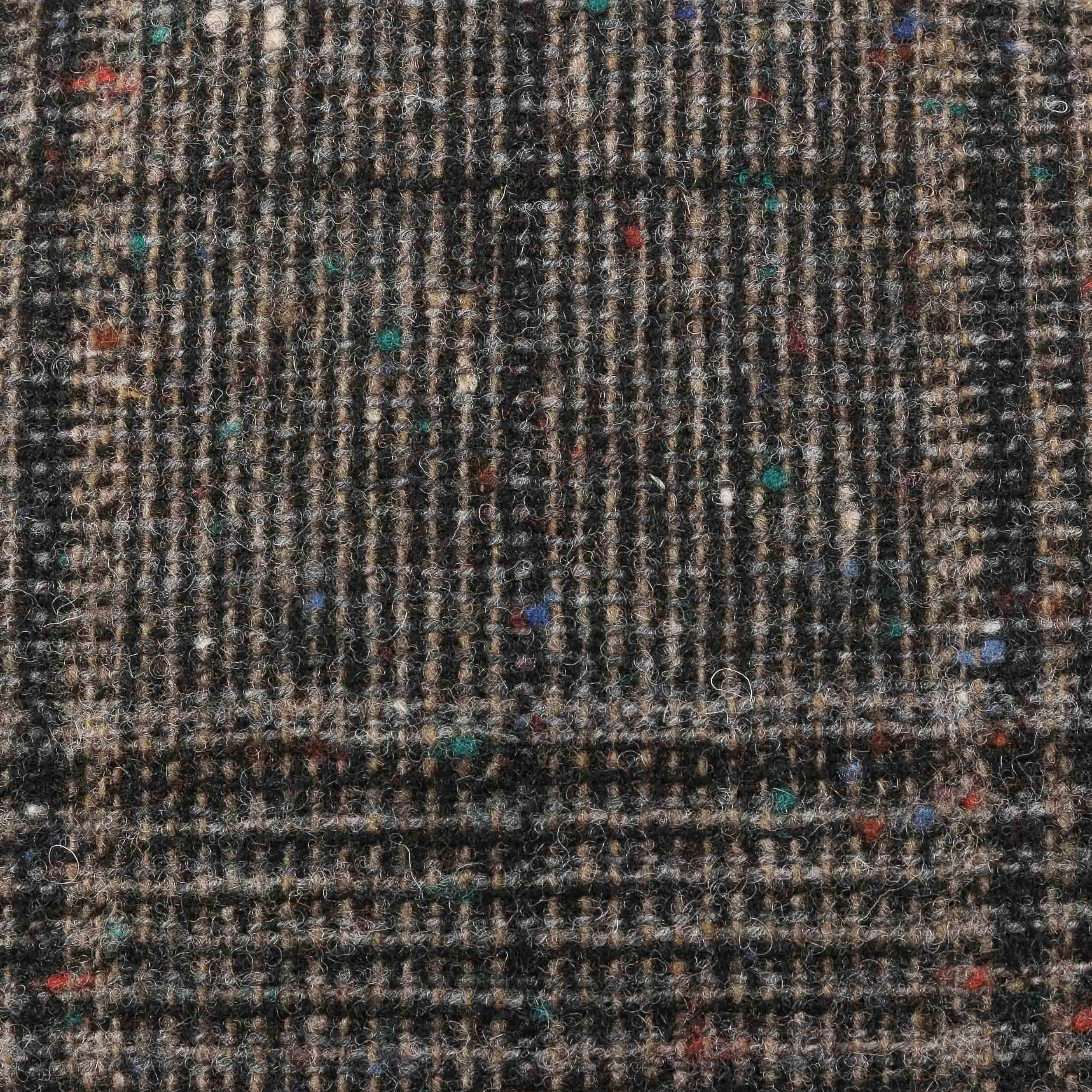 Kent Wool Flat Cap black-beige