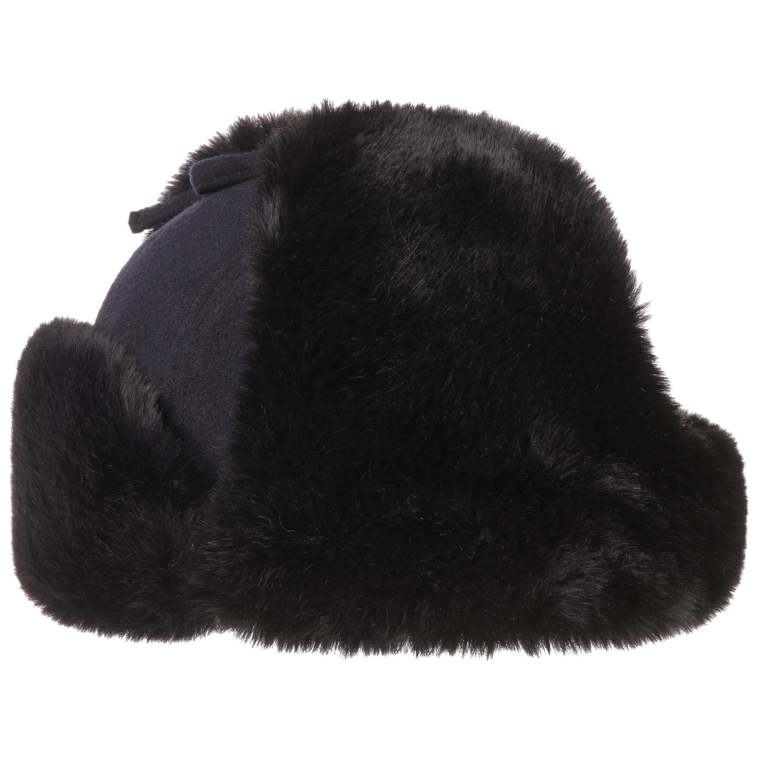 Barnaco Wool Fliegermütze dunkelblau