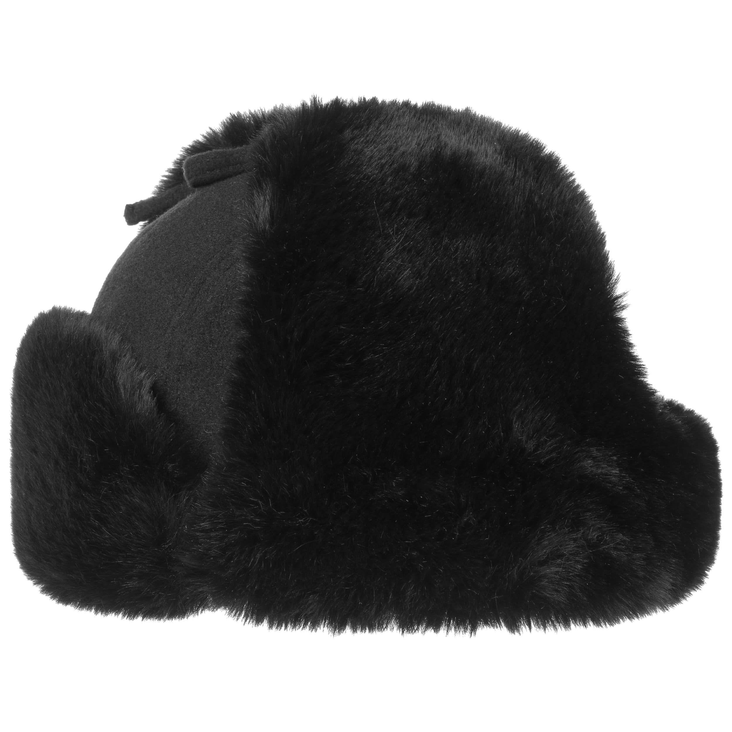 Barnaco Wool Fliegermütze schwarz