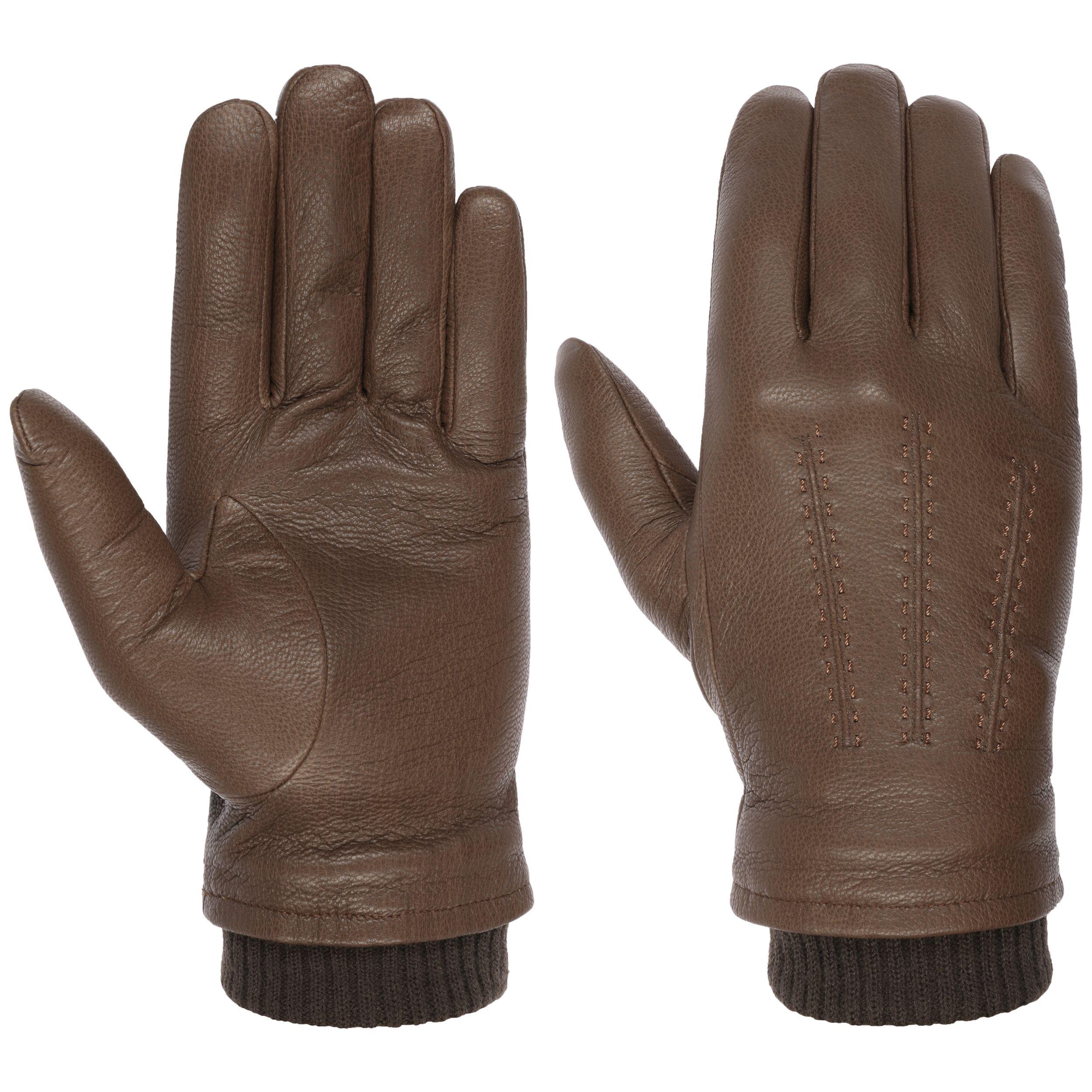 Classic Goat Nappa Handschoenen bruin