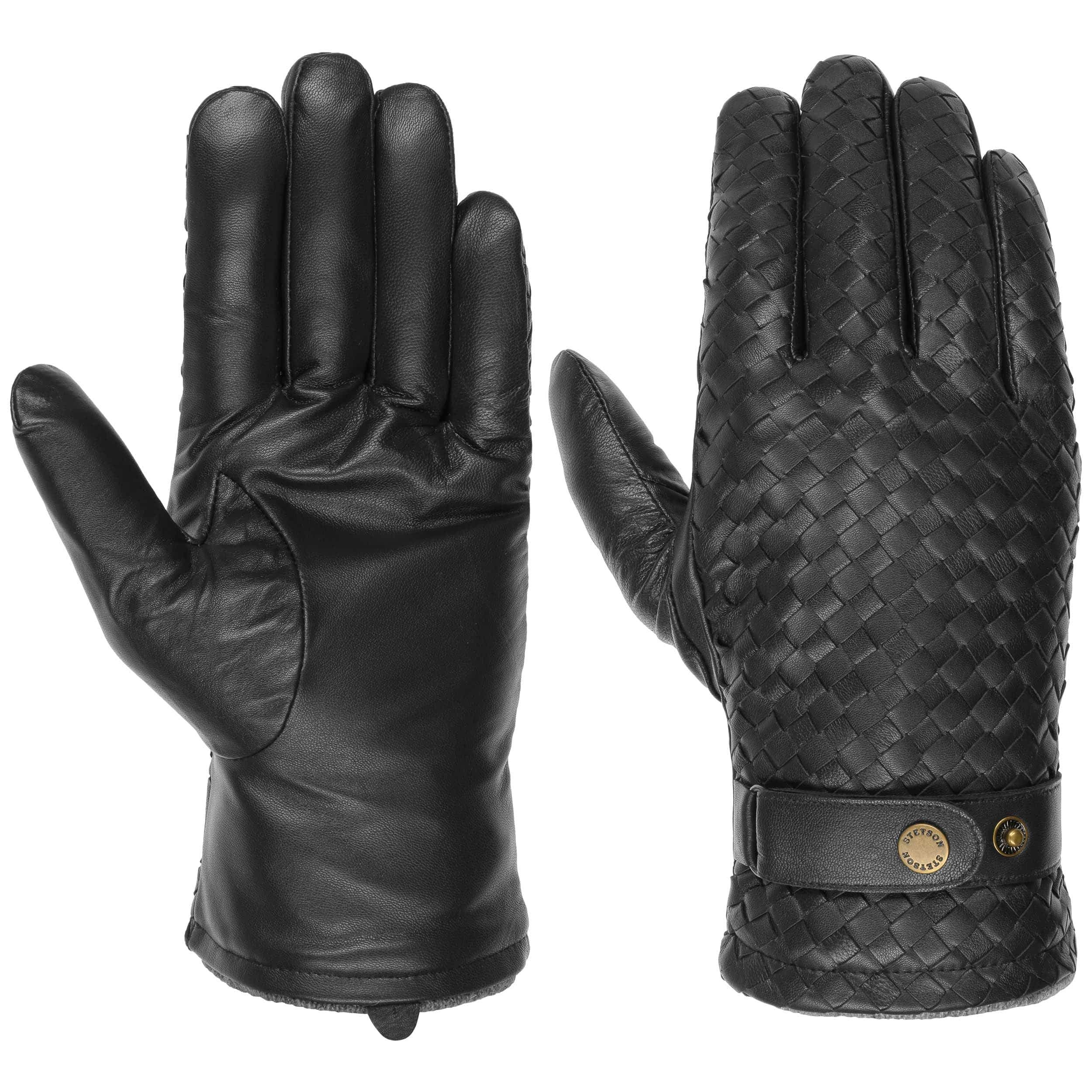 Sheep Nappa Leather Gloves black