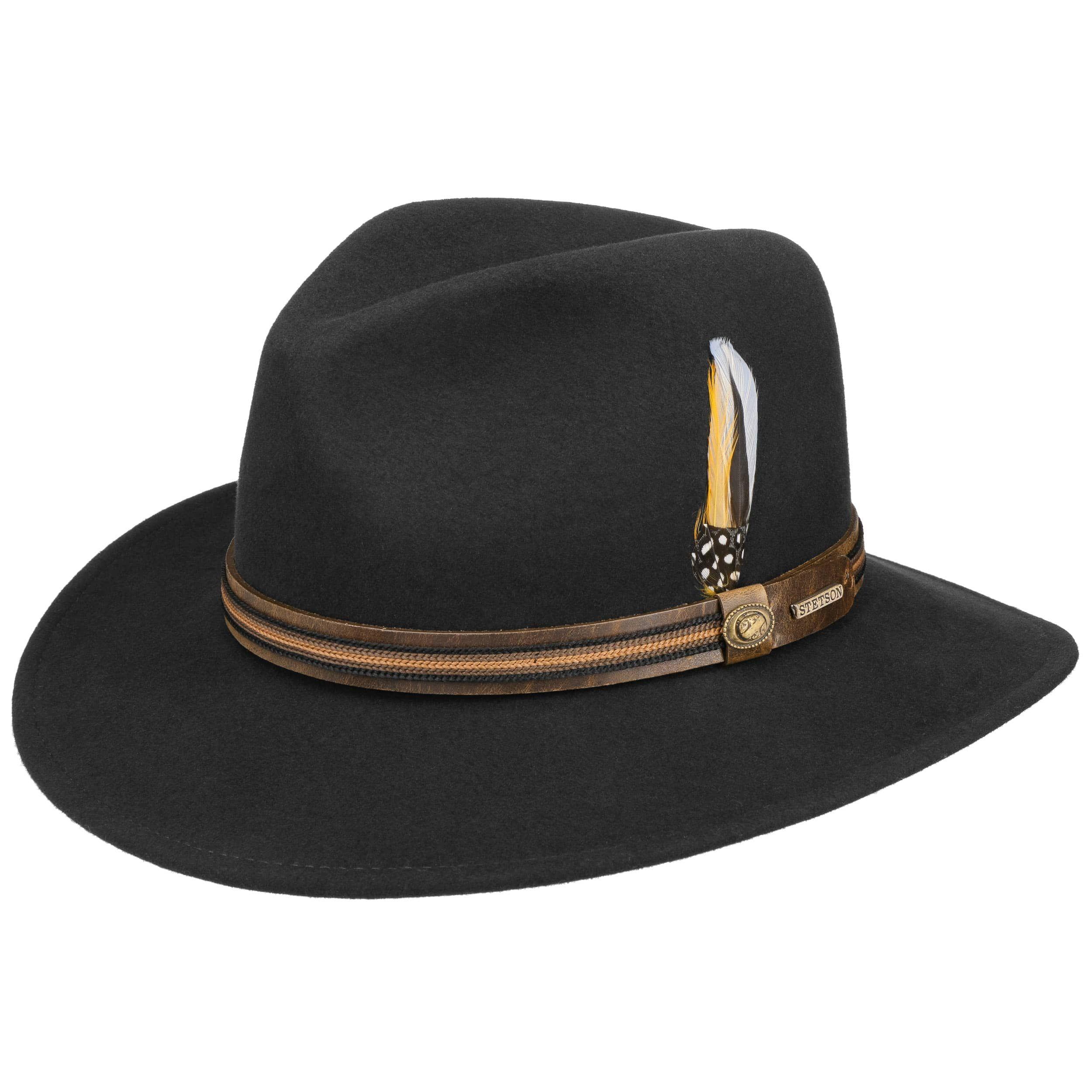 Barnaco Traveller VitaFelt Hut schwarz