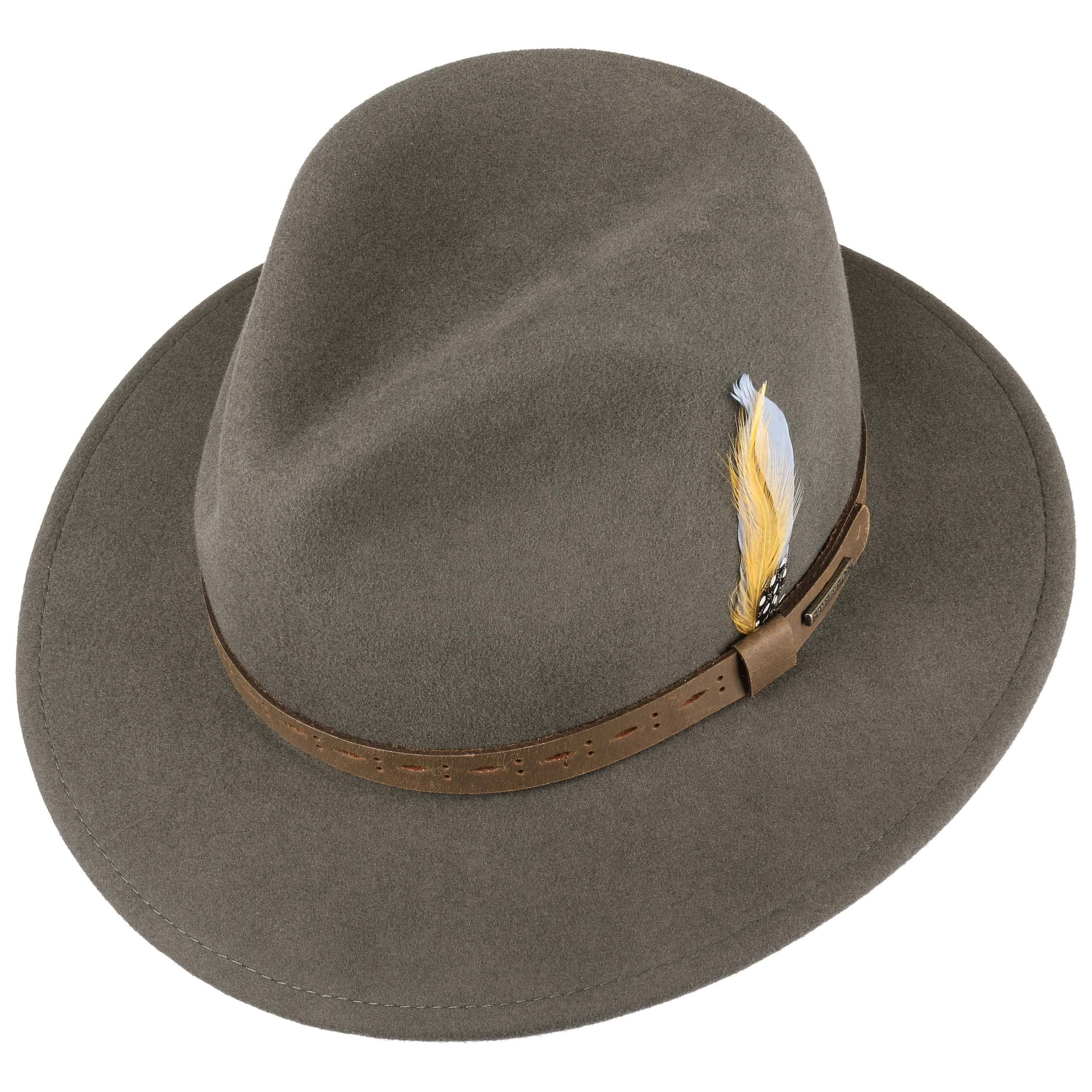 Cutaro VitaFelt Traveller Wool Hat dark grey