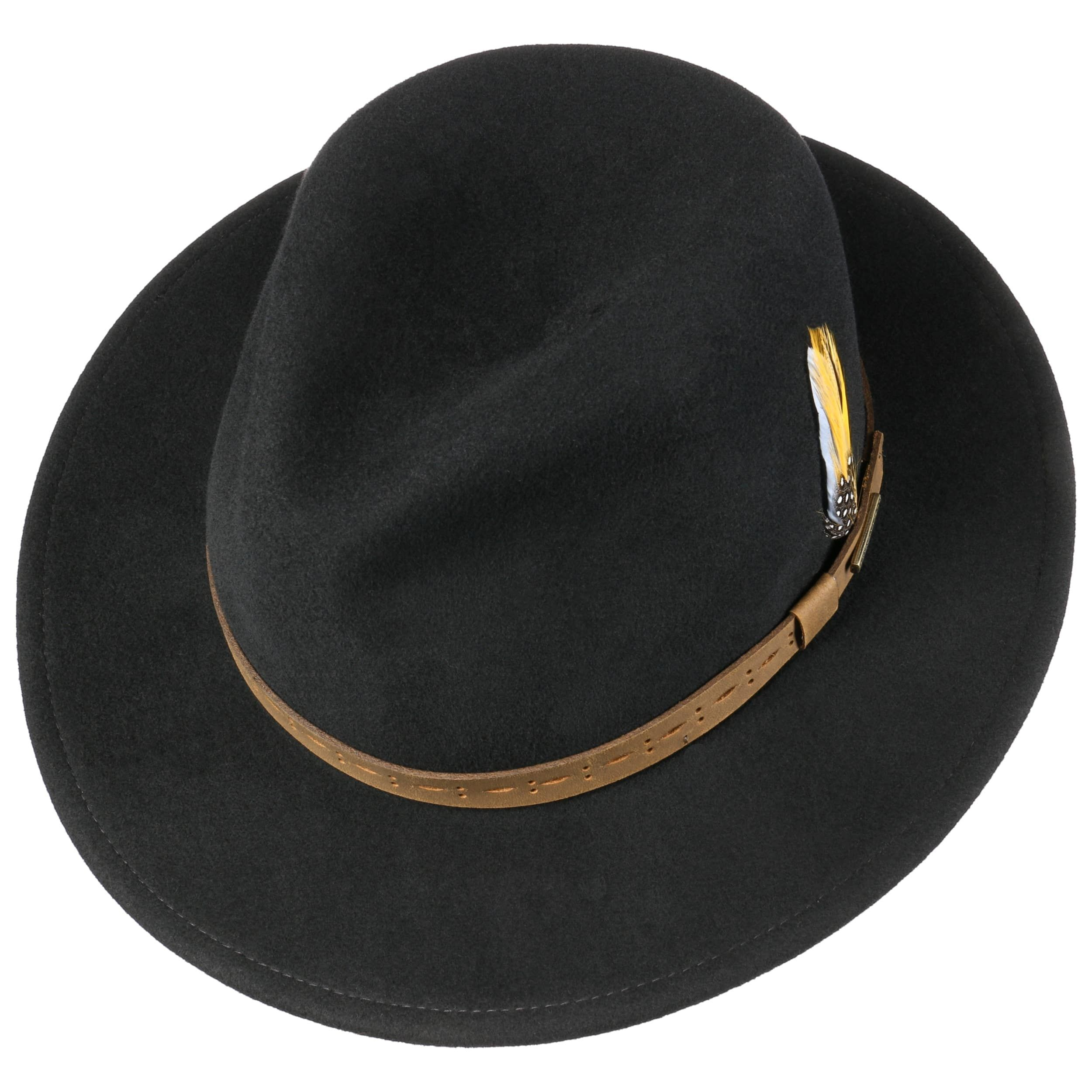 Cutaro VitaFelt Traveller Wool Hat black
