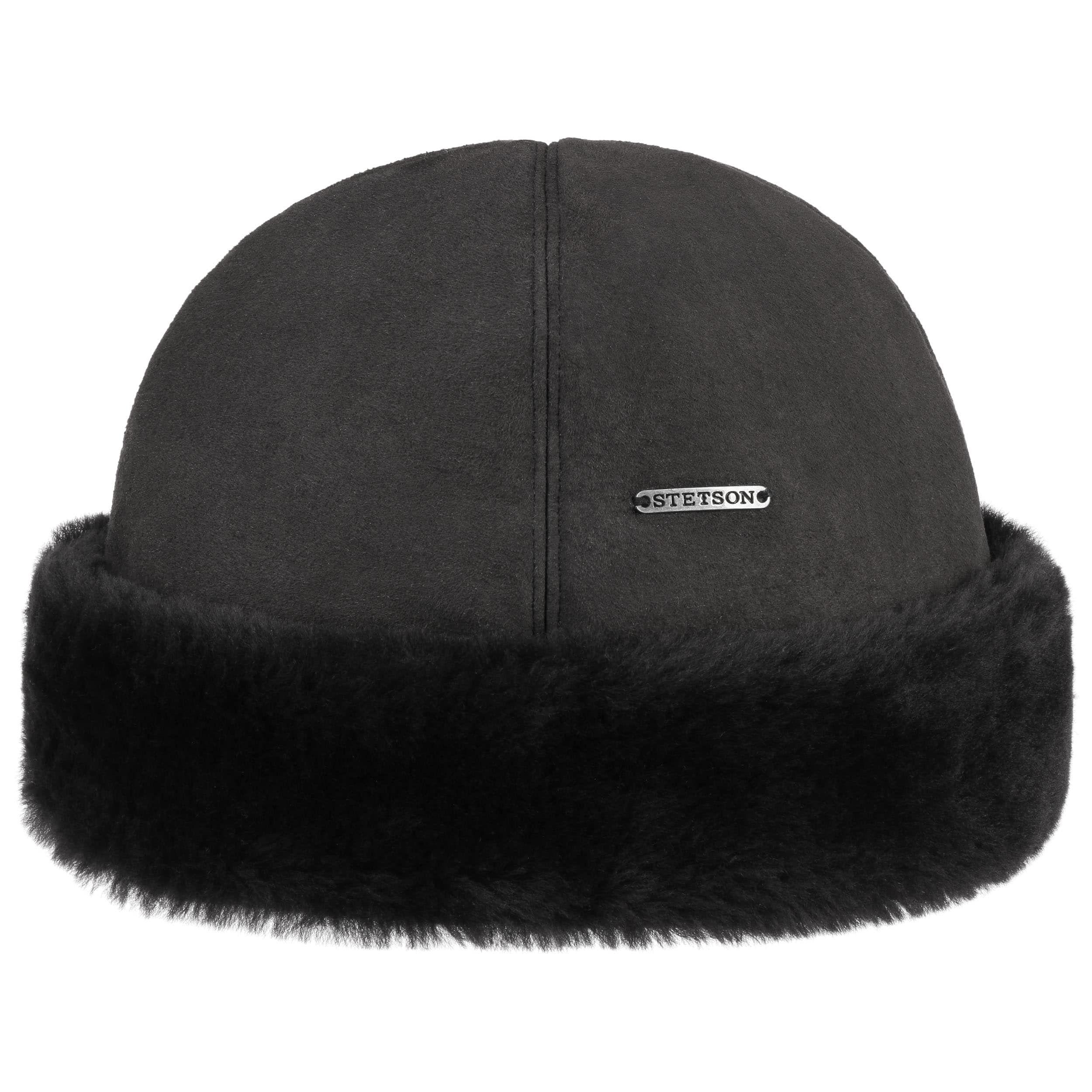 große Vielfalt Stile neueste trends von 2019 2020 Lamby Wintermütze schwarz