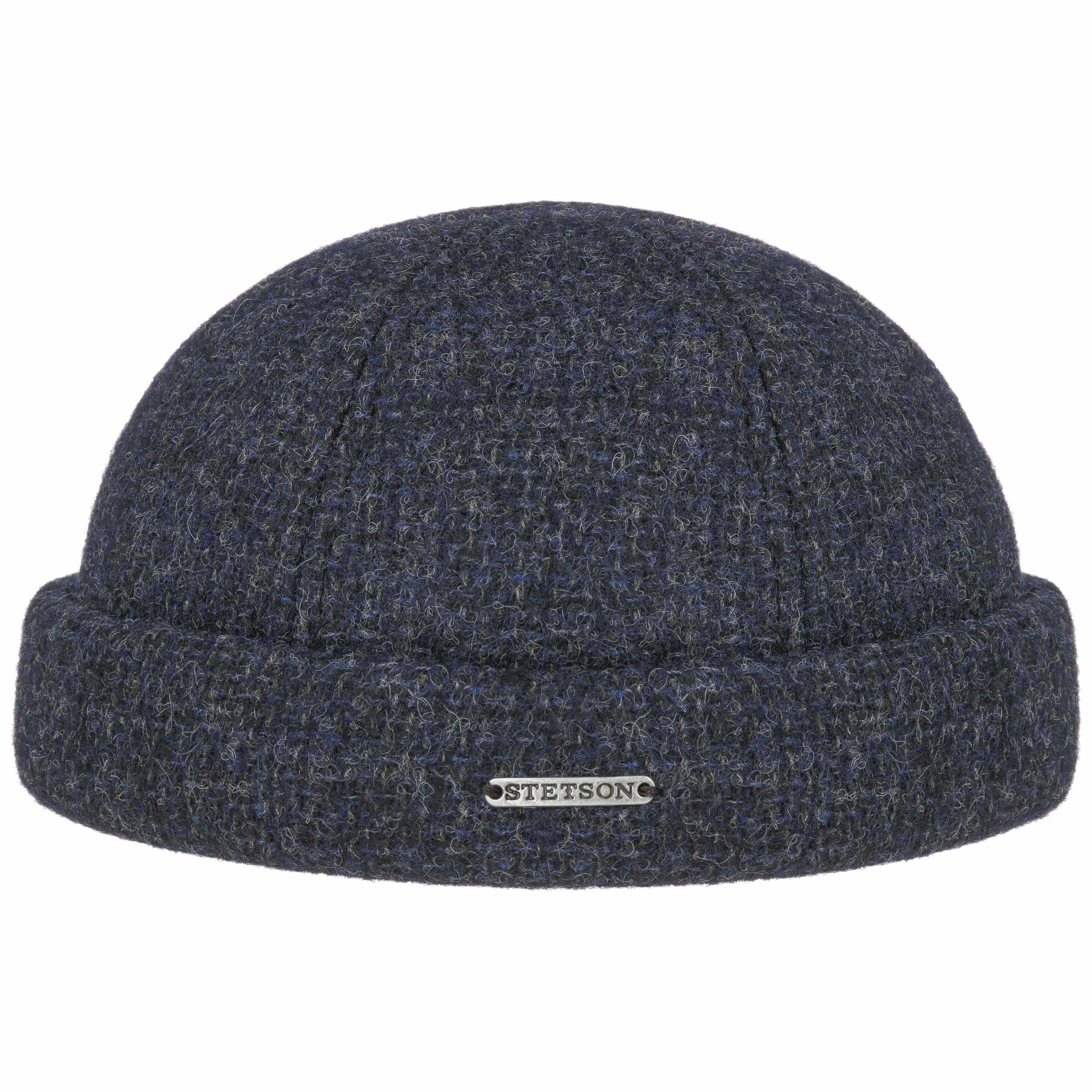 Castleton Wool Docker Hat navy