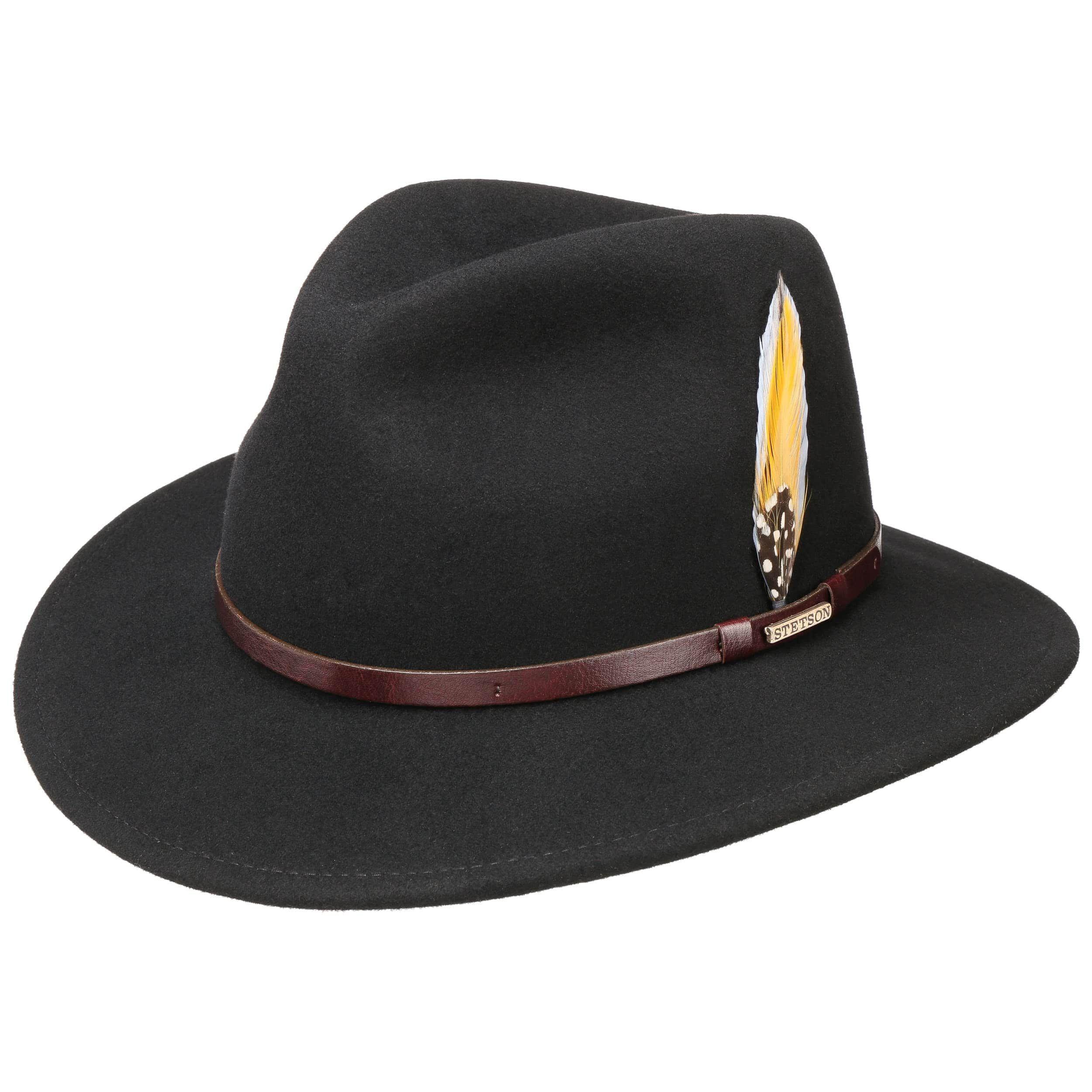 Trandell VitaFelt Traveller Hat black