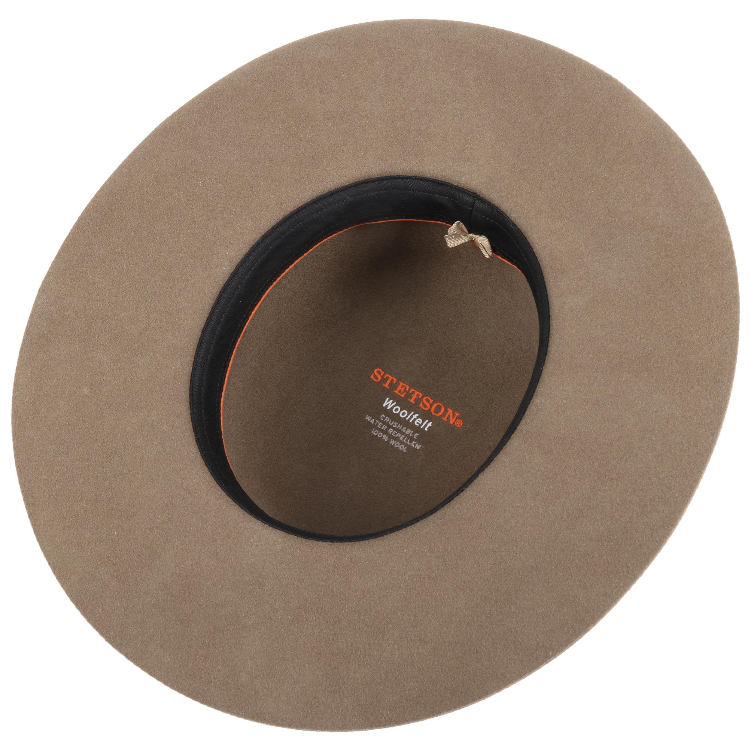 Sombrero de Fieltro de Lana Amish beige
