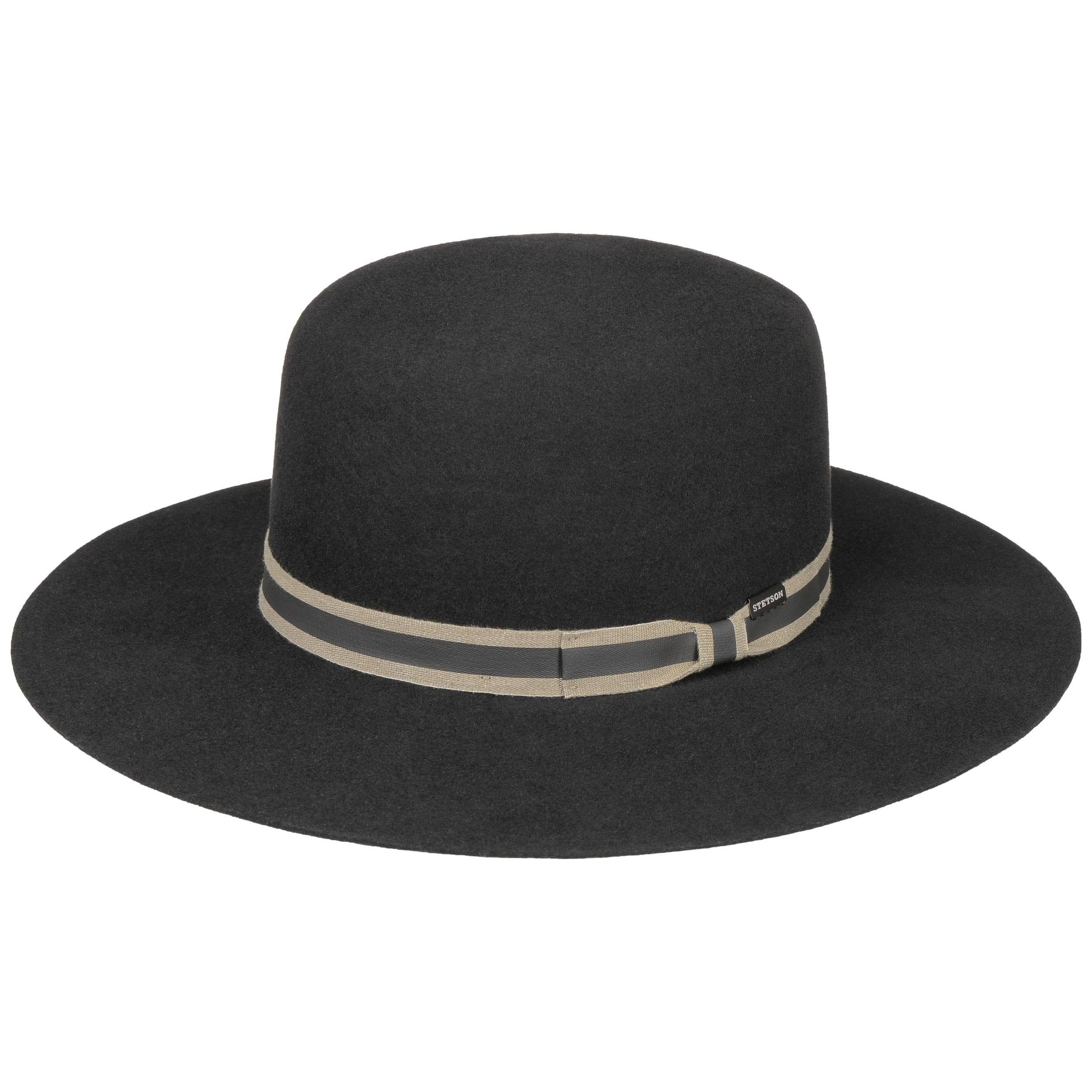 Sombrero de Fieltro de Lana Amish negro