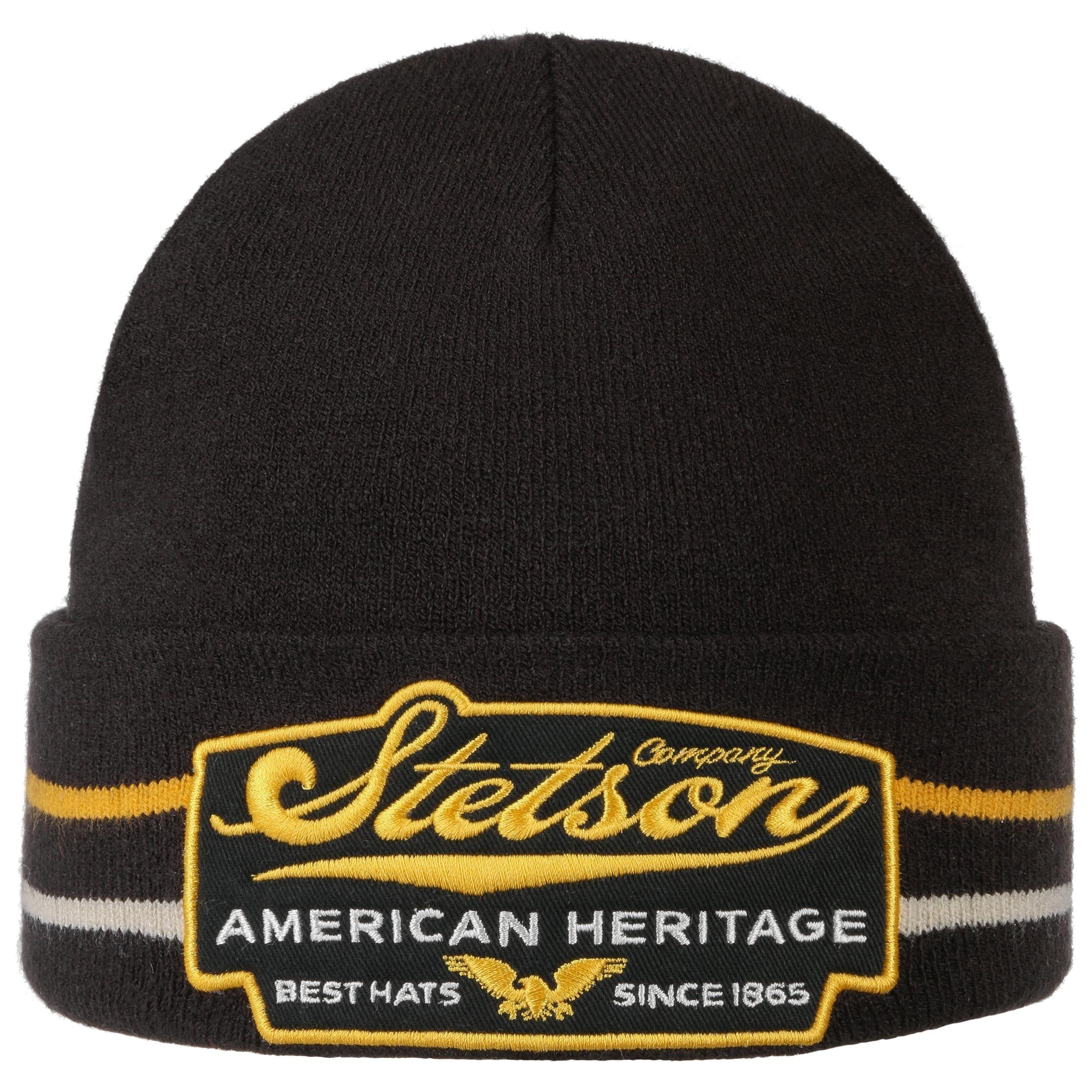 American Heritage Best Hats Beanie black