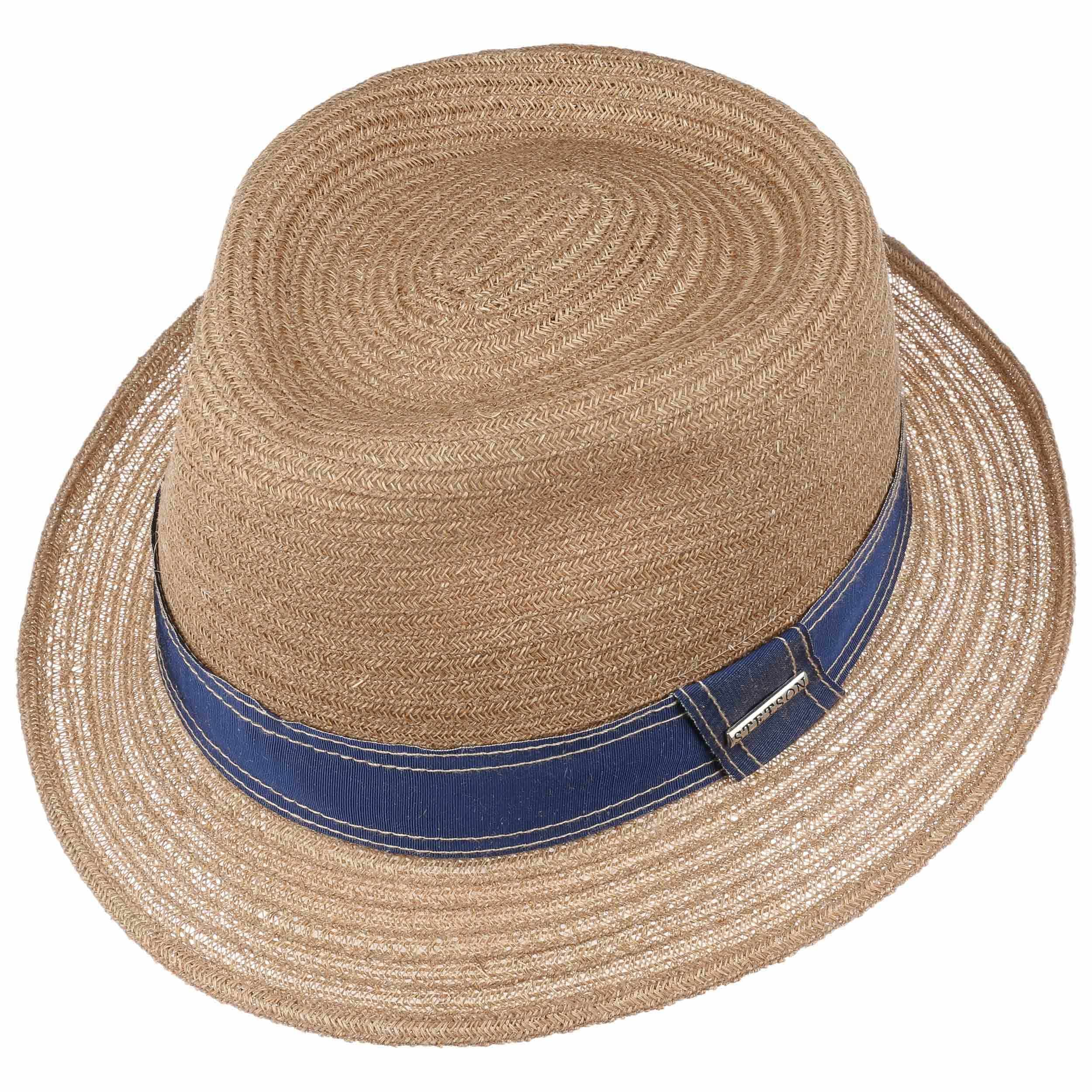 Lorenzo Fedora Hemp Hat dark beige