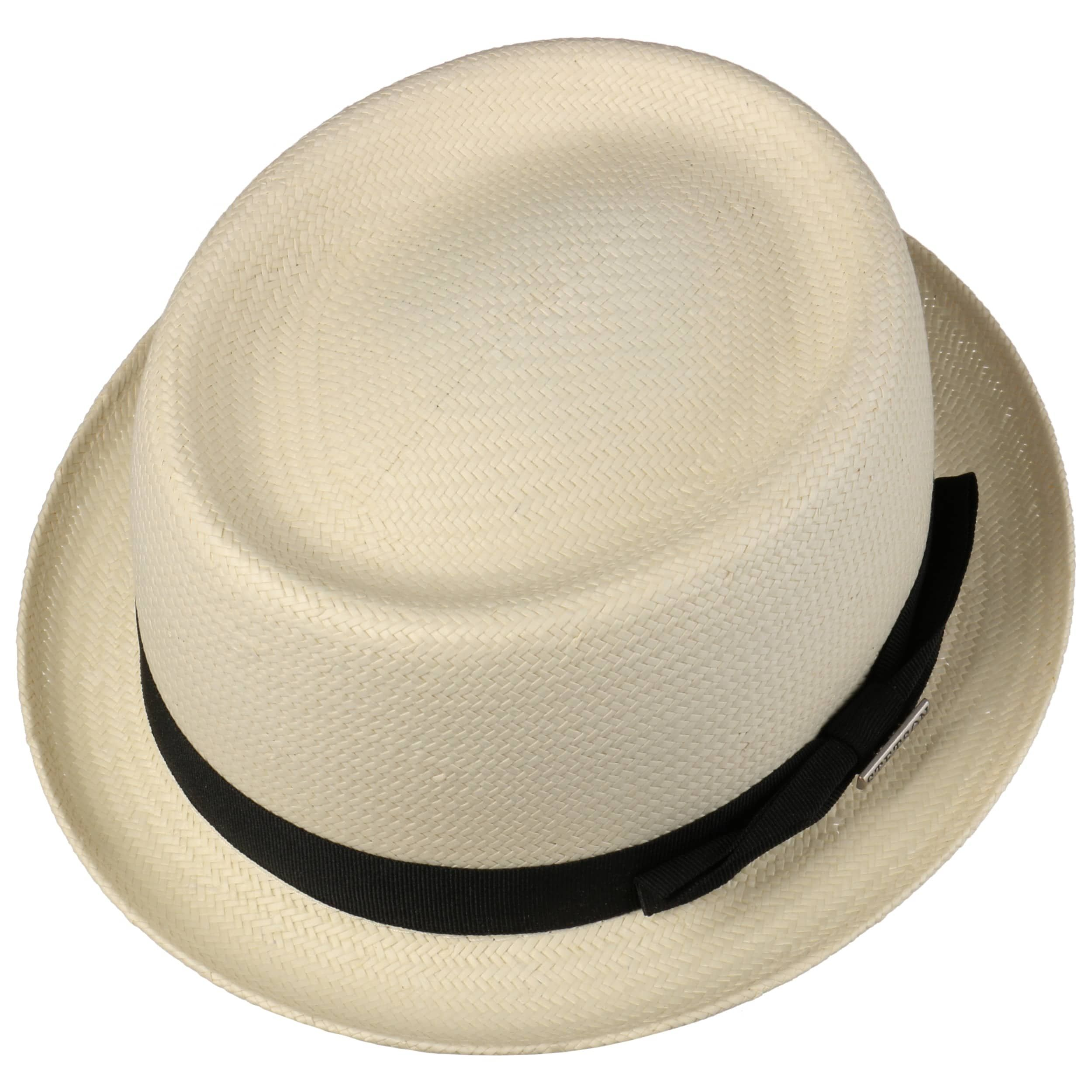Classic Toyo Pork Pie Straw Hat nature