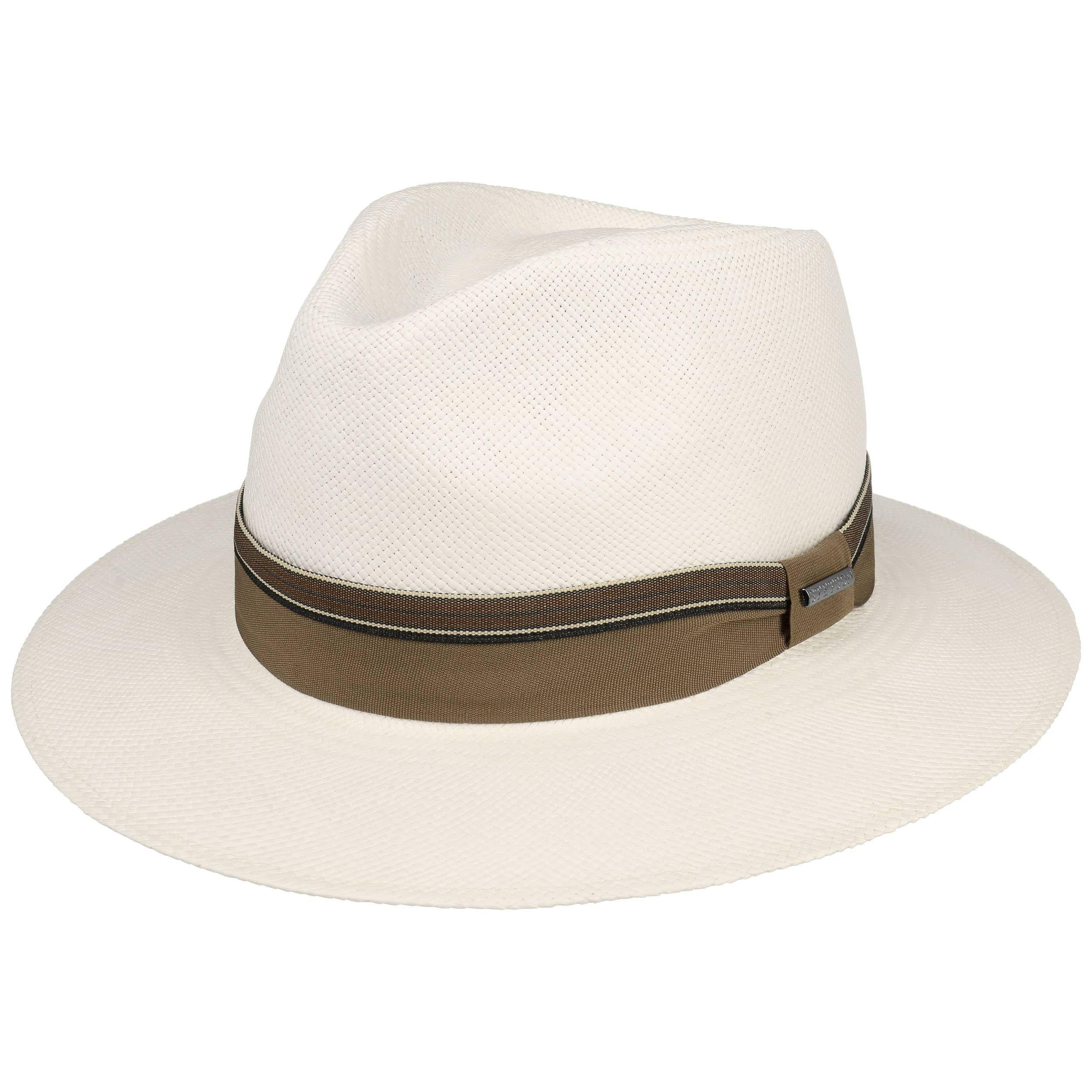 professionnel meilleure valeur dégagement Chapeau Panama Rushworth Traveller blanc crème
