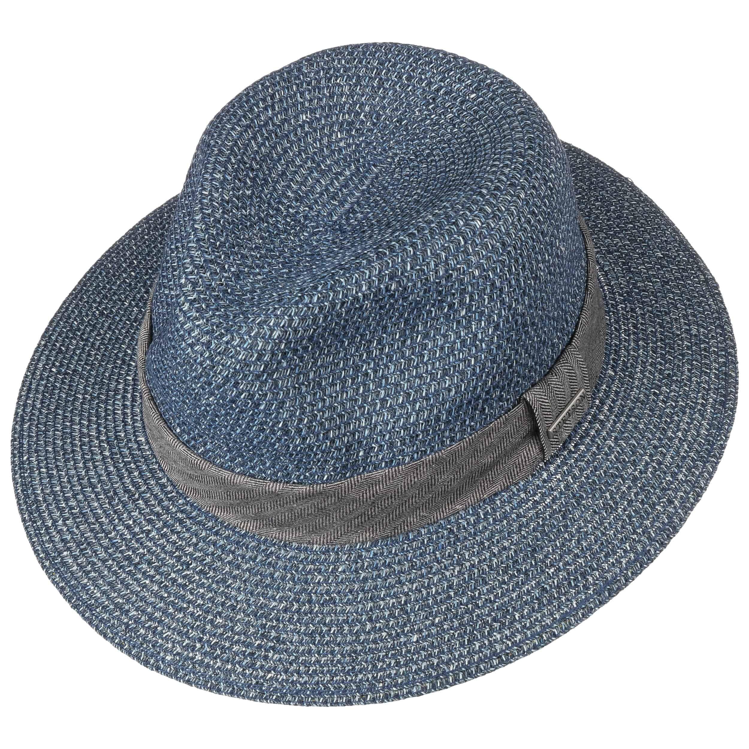 Nark Traveller Toyo Straw Hat blue-mottled