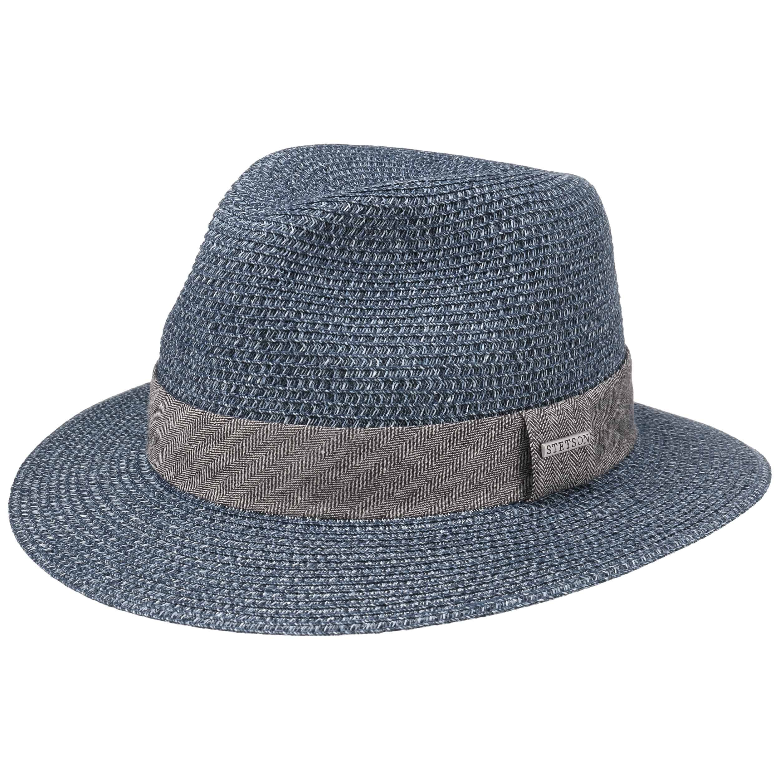 Nark Traveller Toyo Strohoed blauw-gemêleerd