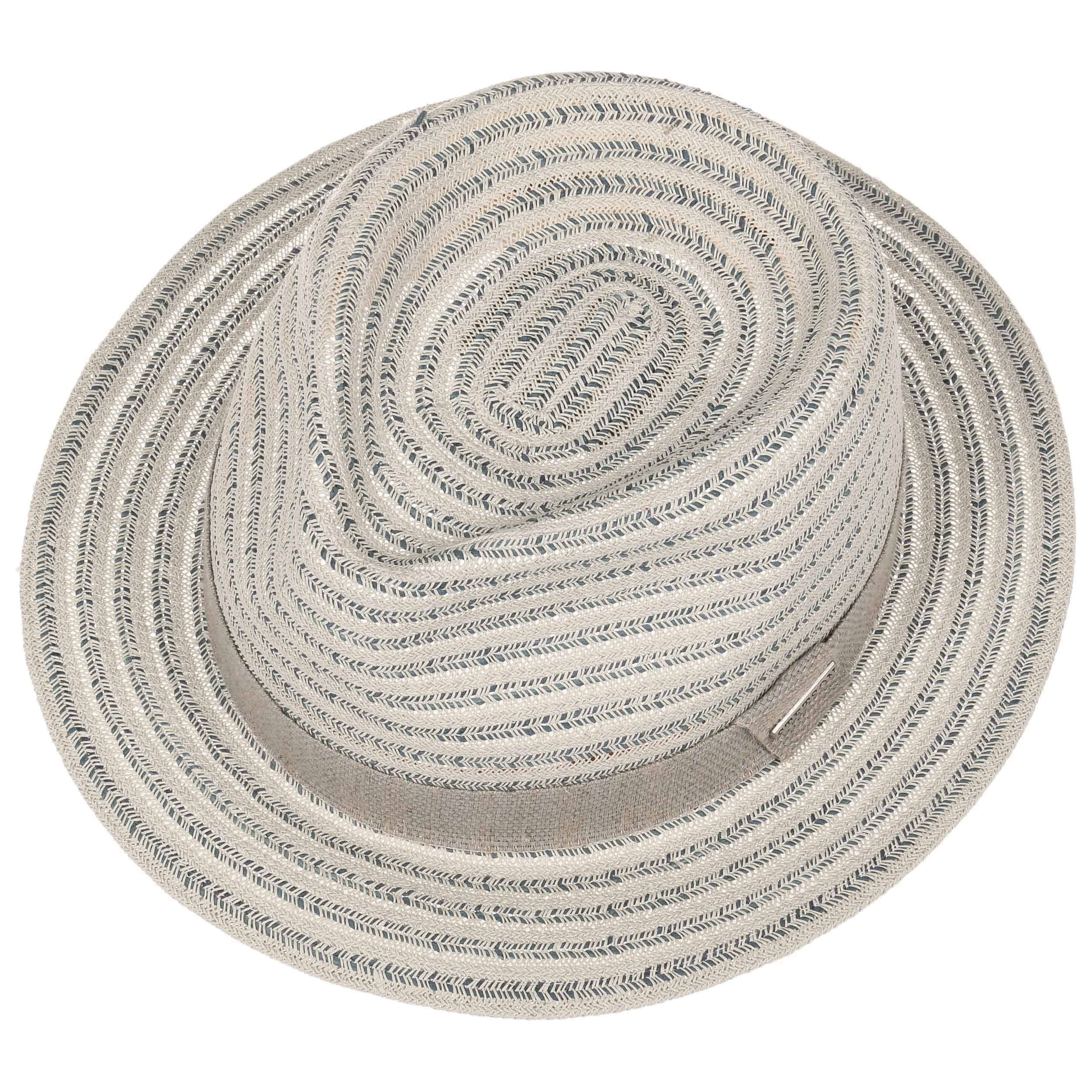 Lopez Toyo Traveller Straw Hat light grey