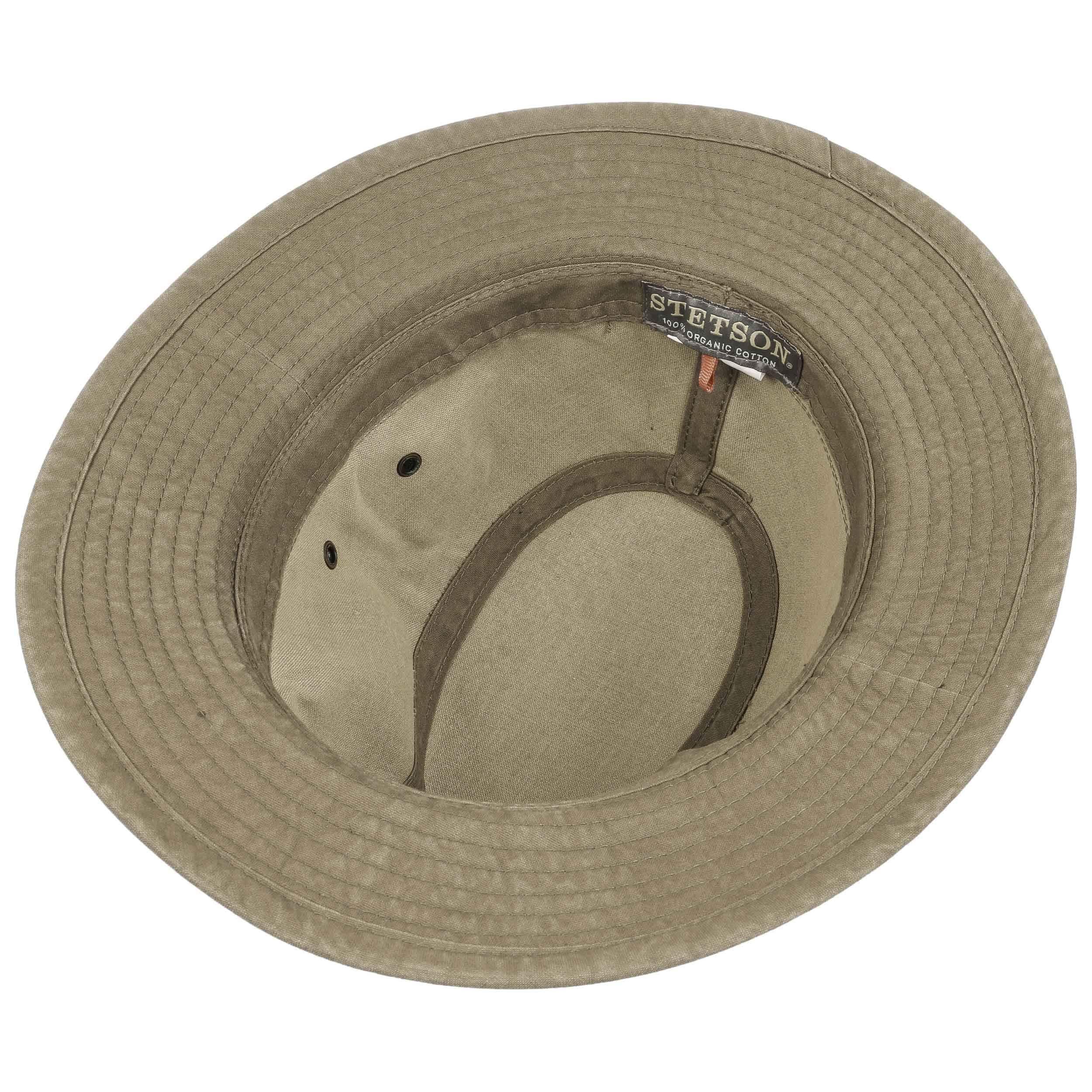 Organic Cotton Traveller Hat khaki
