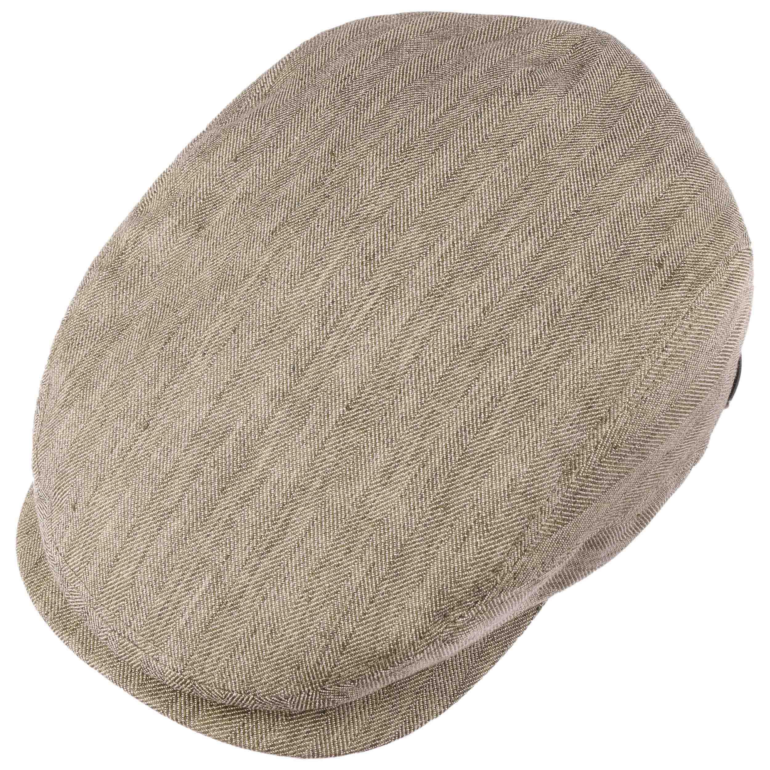 Belfast Cotton-Mix Flatcap beige